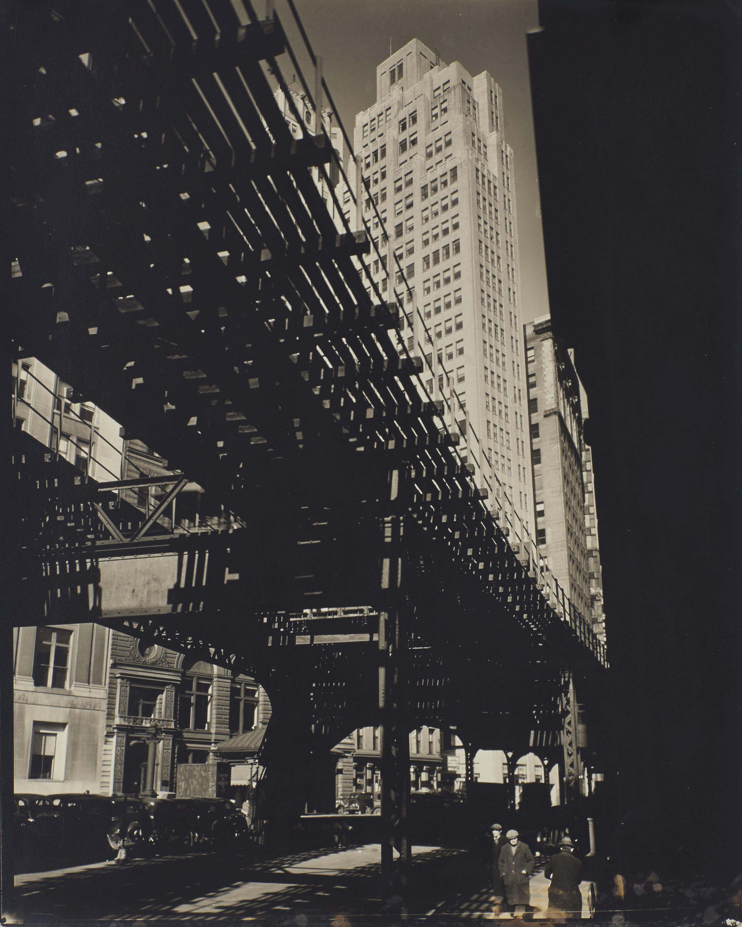 El, 2nd and 3rd Avenues Lines: Hanover Square and Pearl Street, Manhattan, 1936
