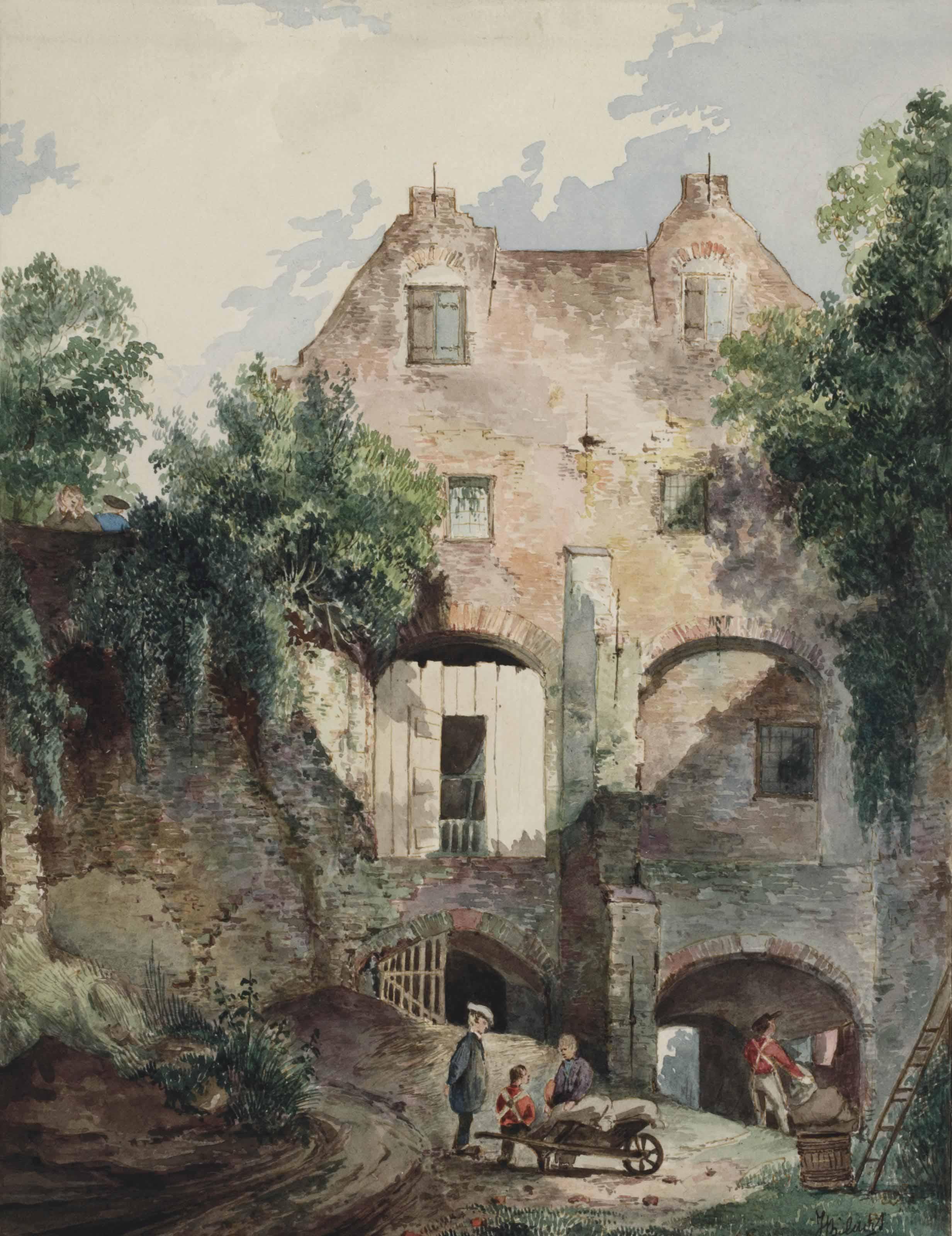 A house in the bastion Sterrenburg, Utrecht