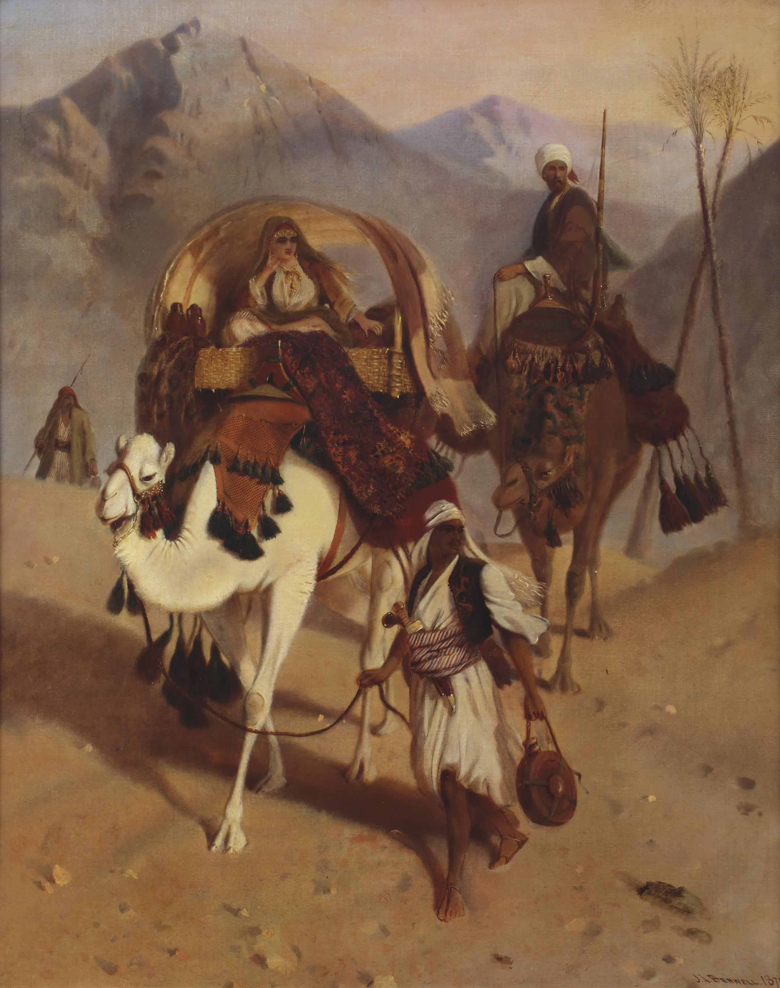 In the desert, Sinai