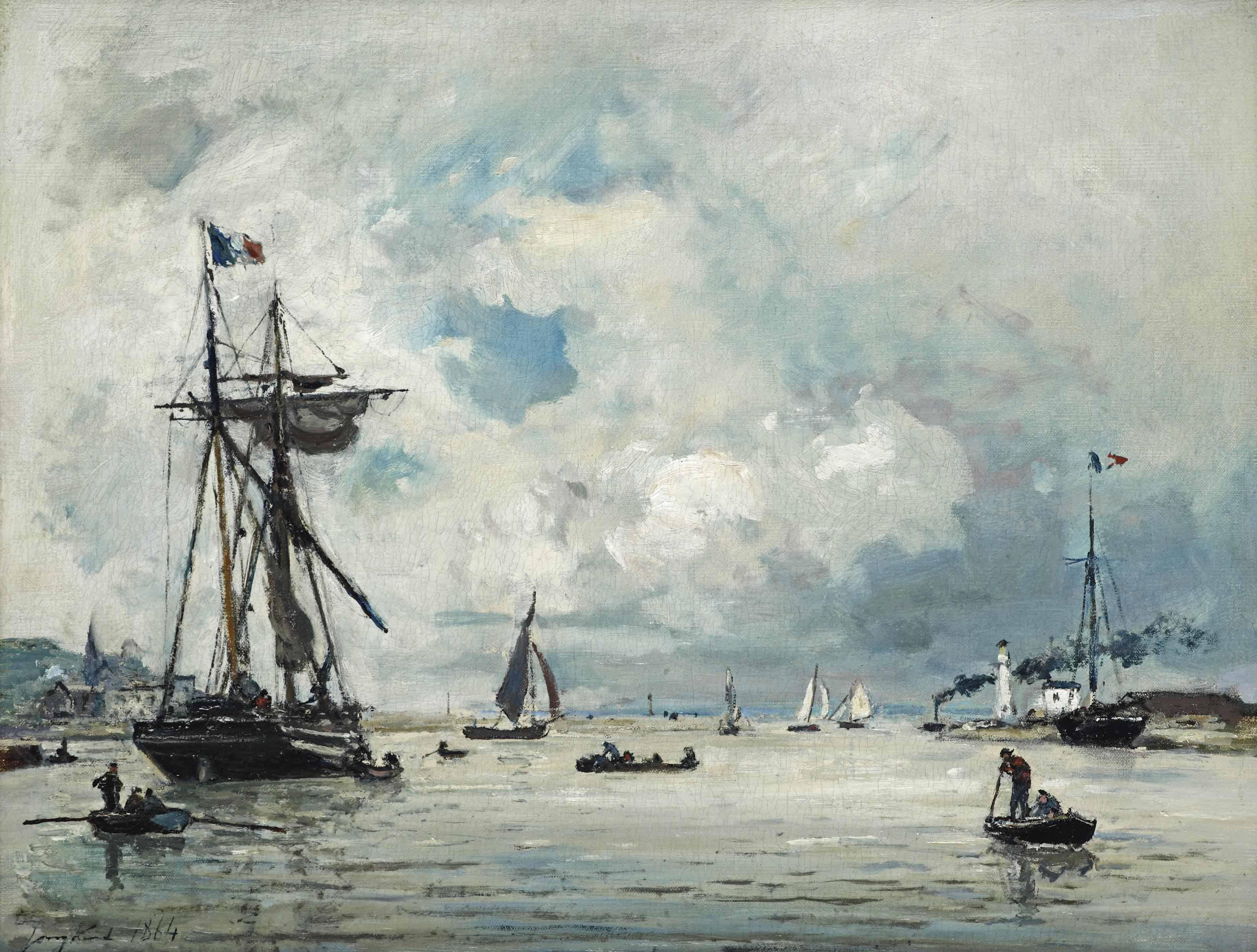 L'entrée du Port de Honfleur