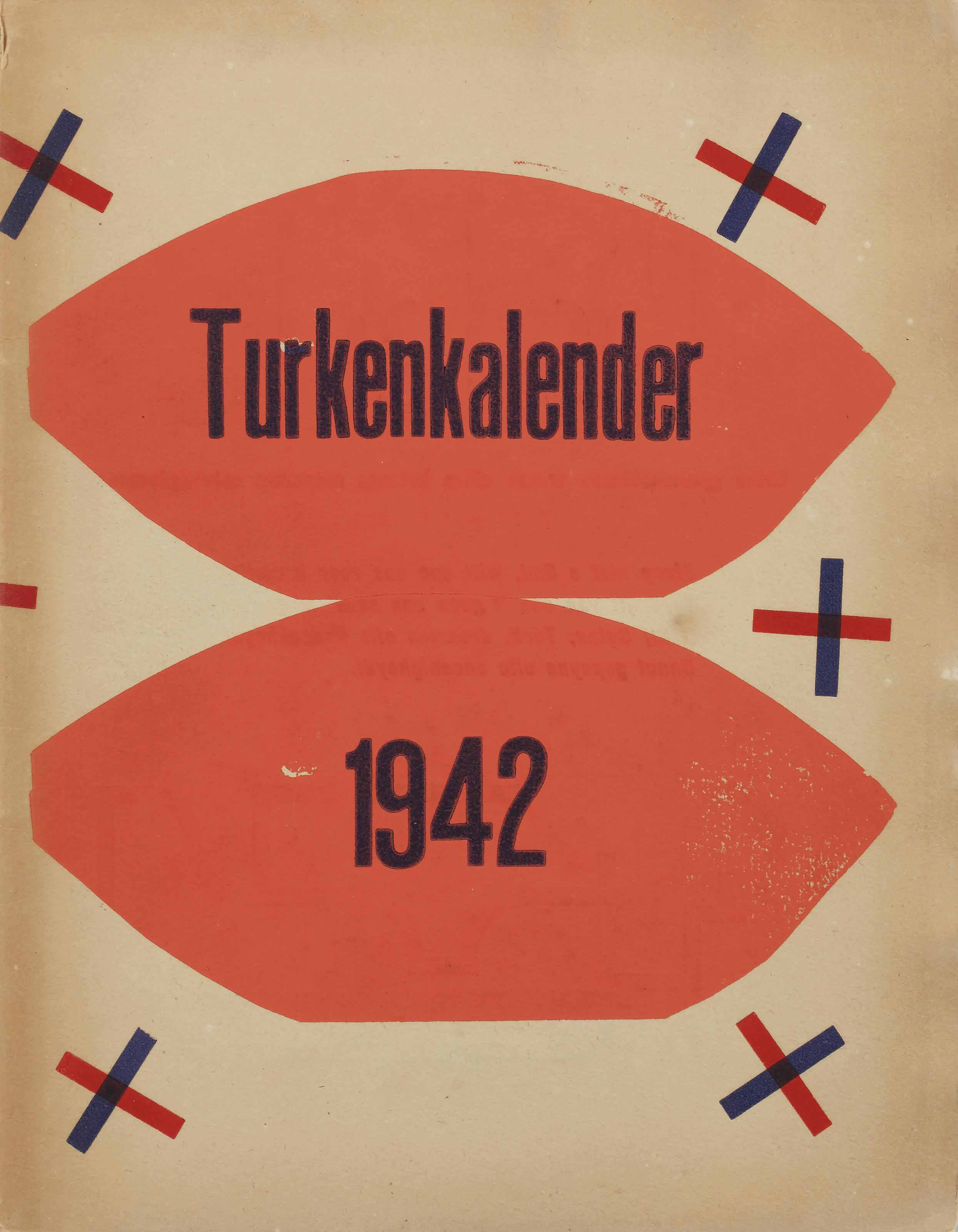 Turkenkalender 1942 and Six other booklets