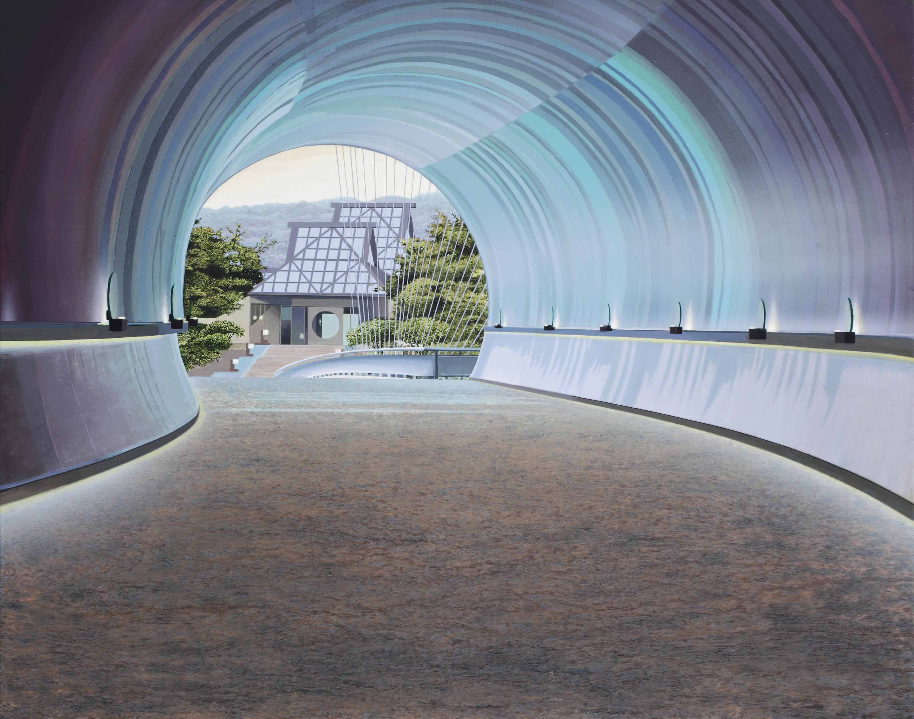 Miho tunnel, Japan