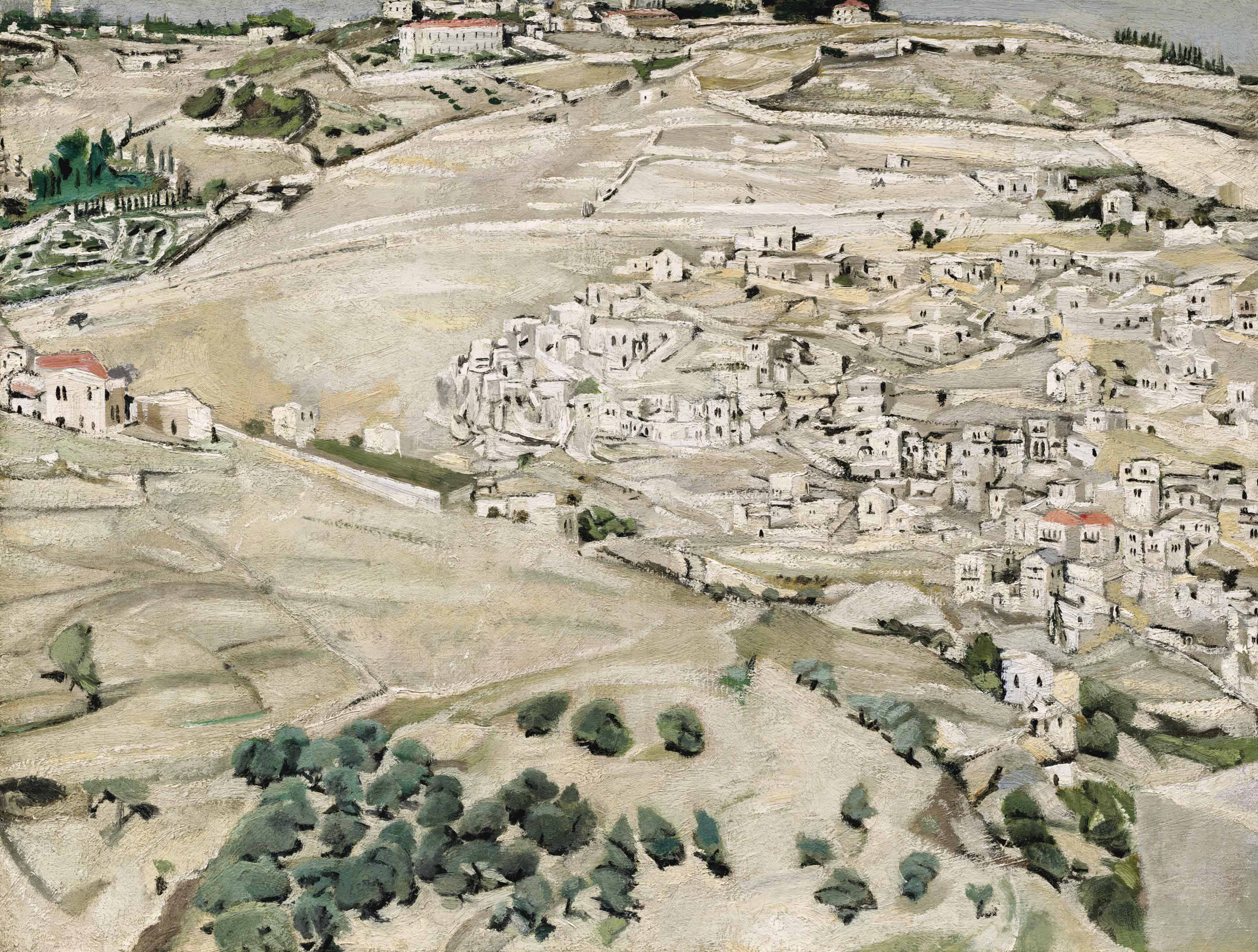 Siloam and the Mount of Olives