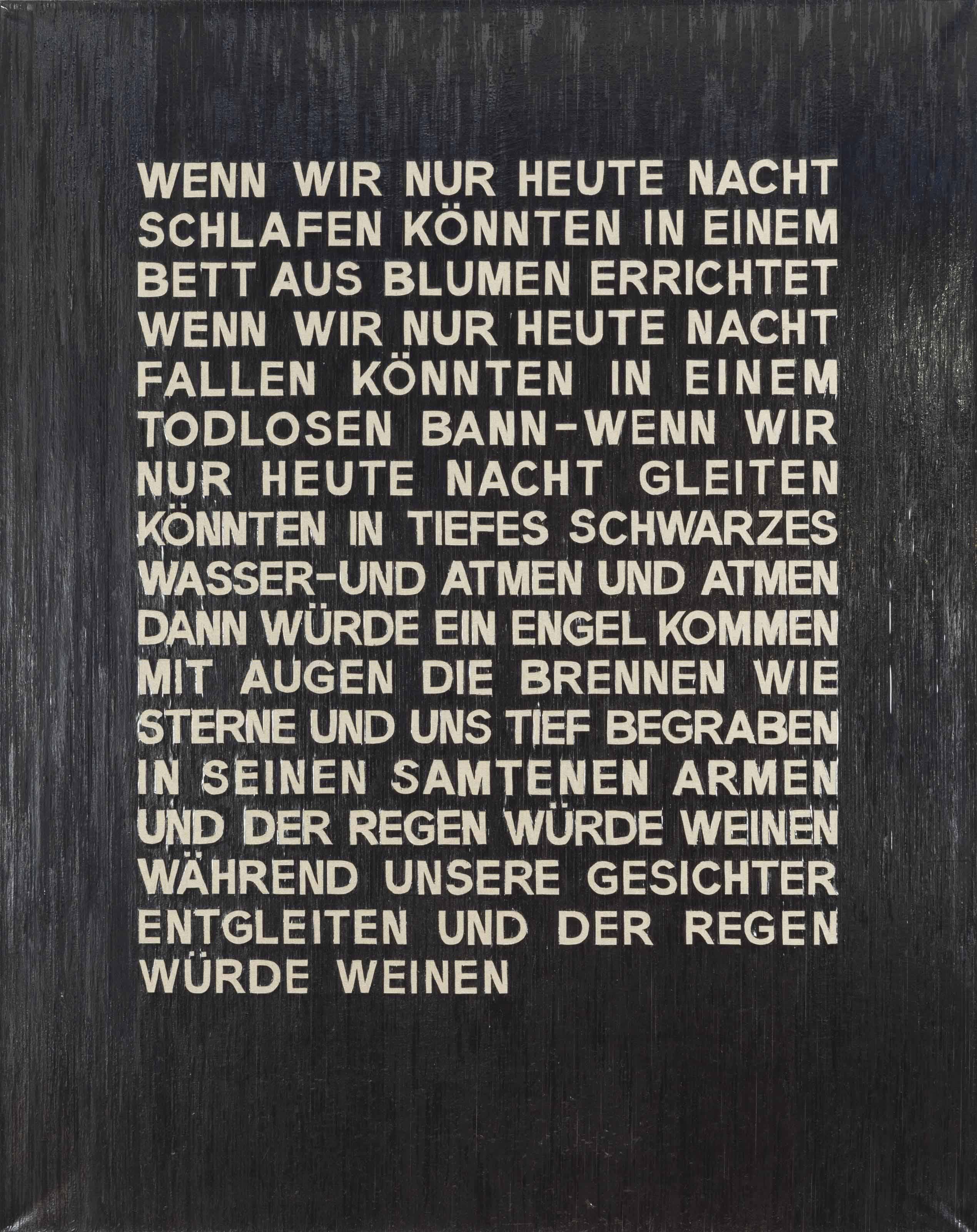 Wenn Wir (nur heute) (If we (only today))