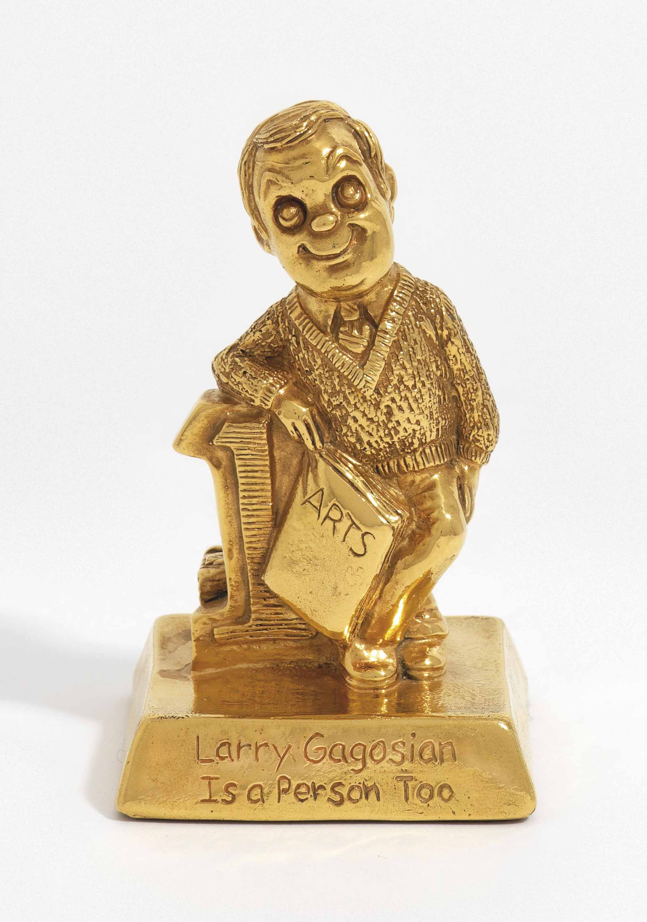 Larry Gagosian Is a Person Too