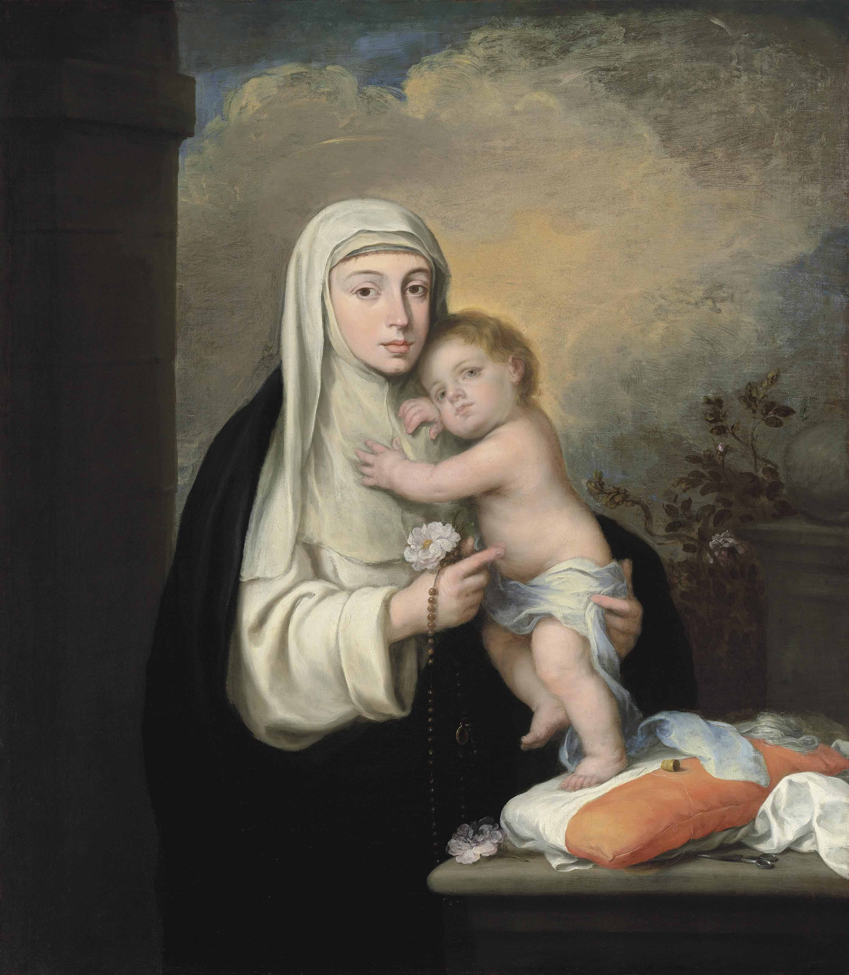 Saint Rose of Lima with the Christ Child
