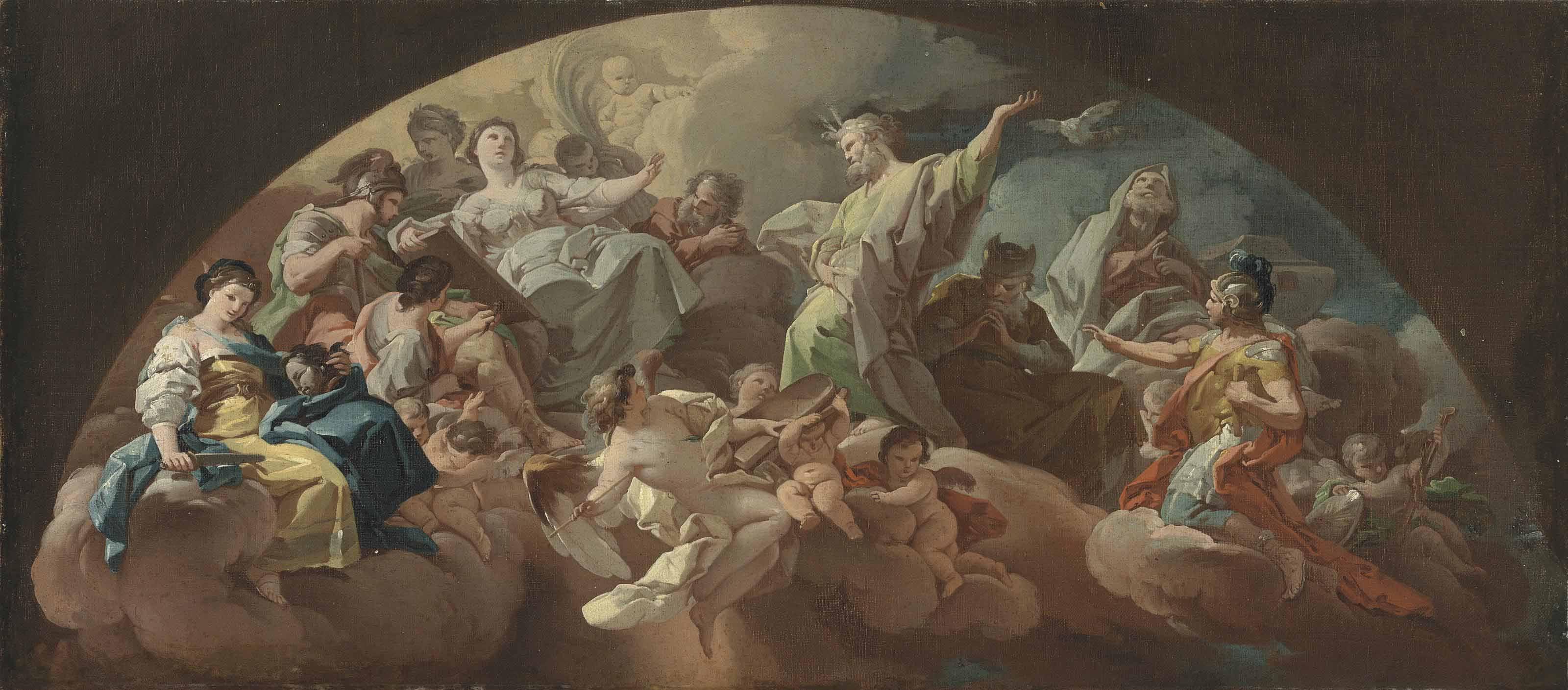 An allegory of the Old Testament