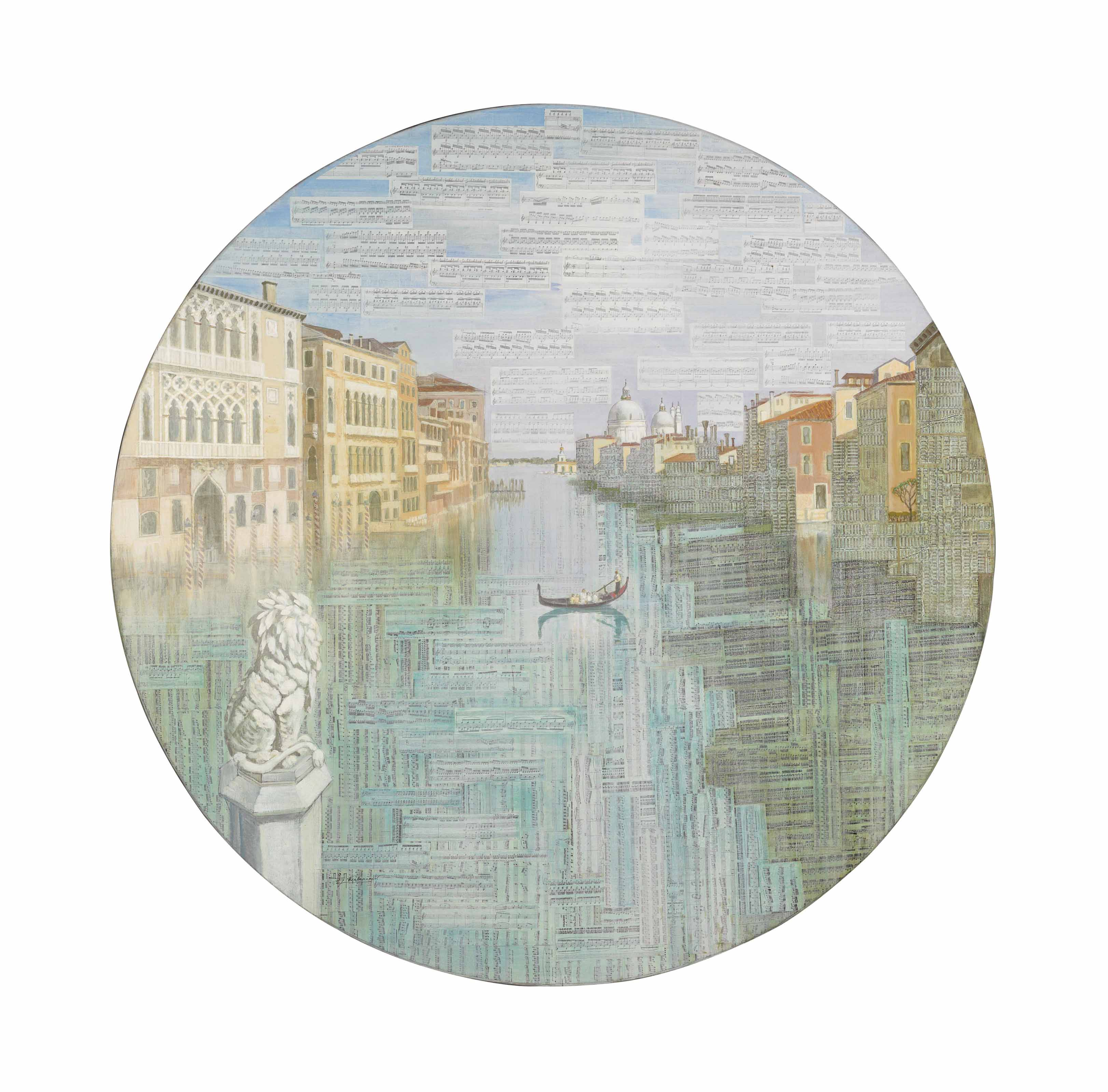 Vivaldi's music upon the Grand Canal