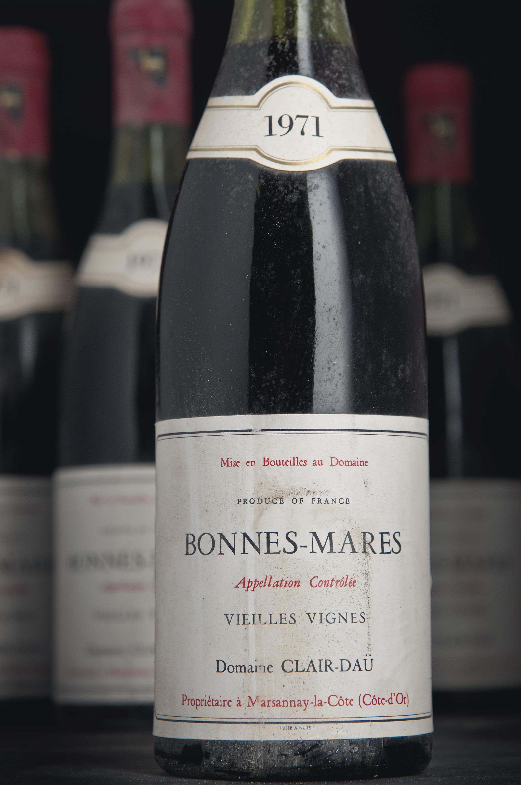 Clair Daü, Bonnes-Mares Vieilles Vignes 1971