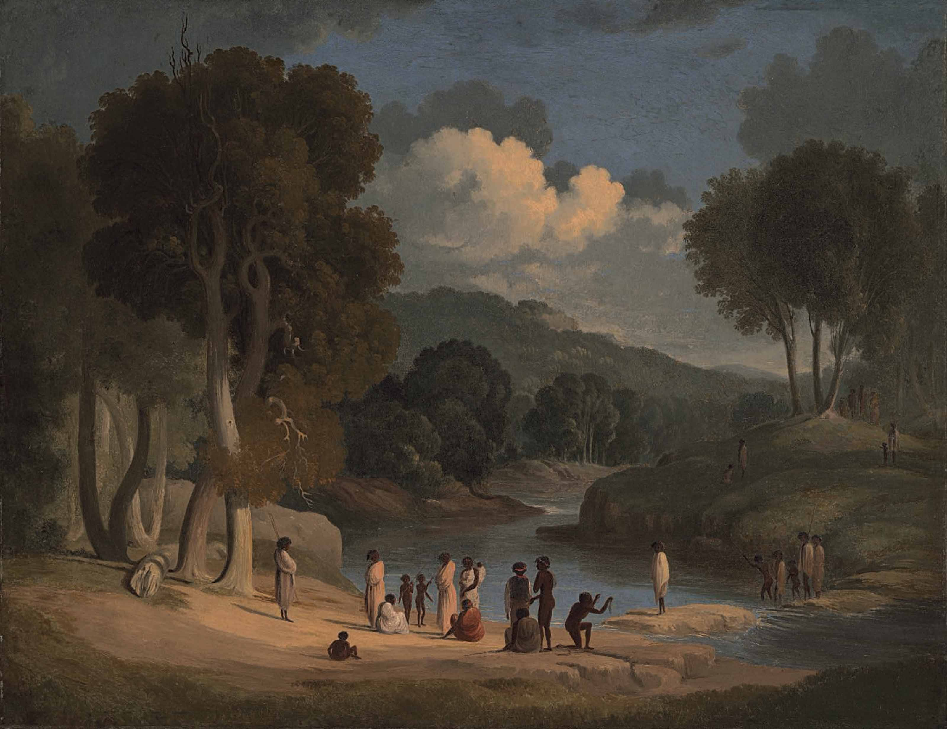 """""""Passage of the Blacks"""", Blue Mountains, New South Wales"""