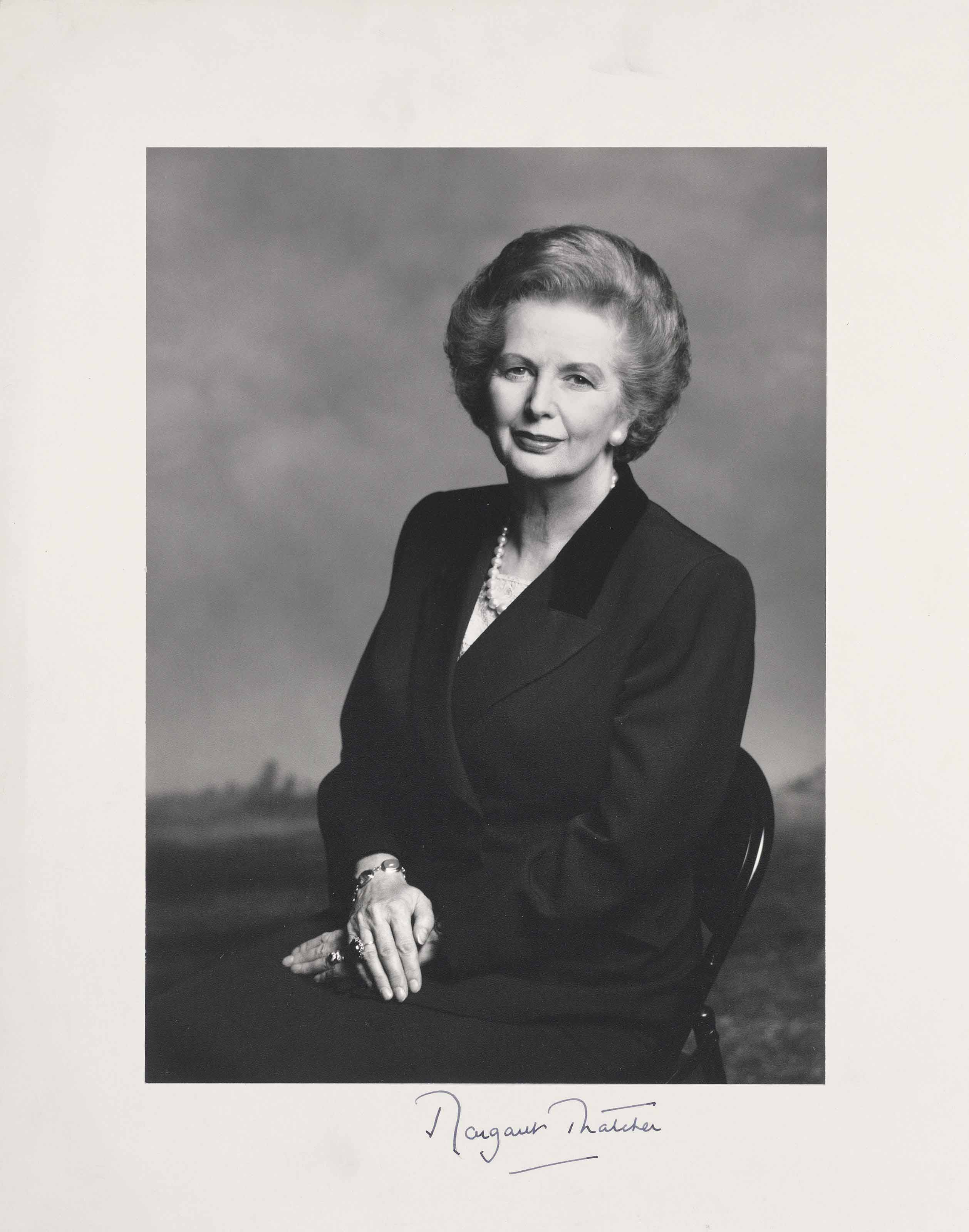 Margaret Thatcher, 1995