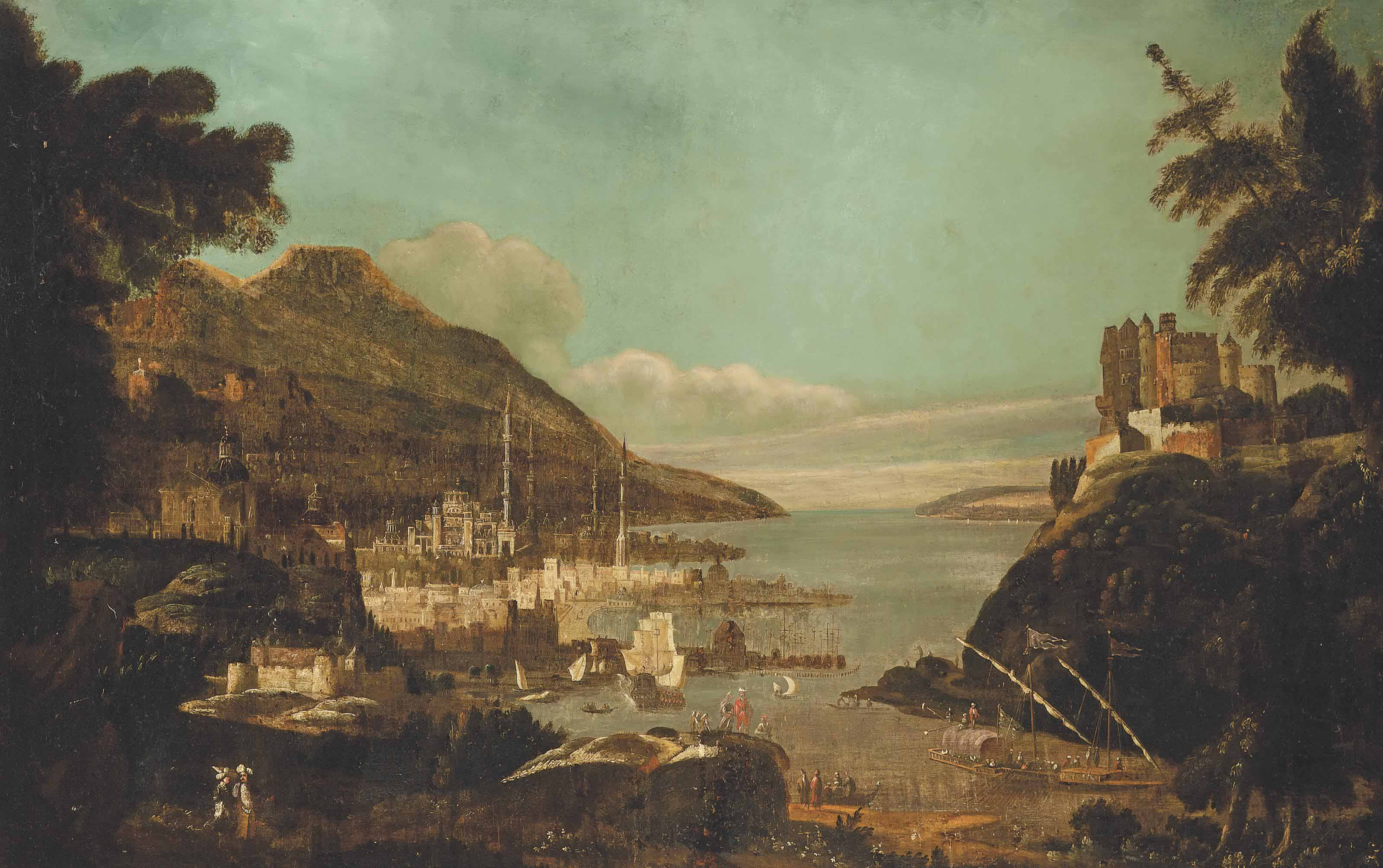 A view of Constantinople