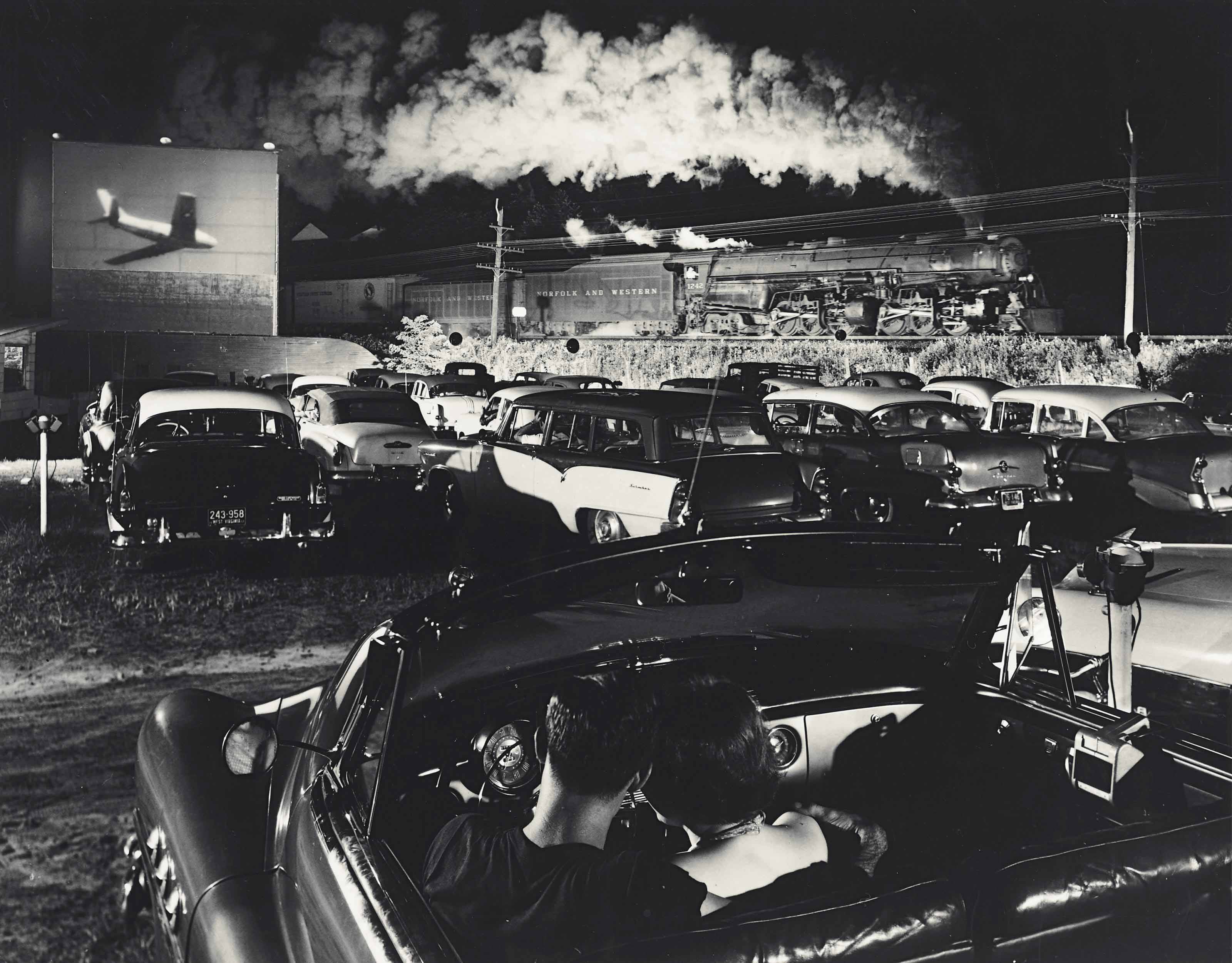 Hot Shot, East Bound, Iaeger, West Virginia, 1956
