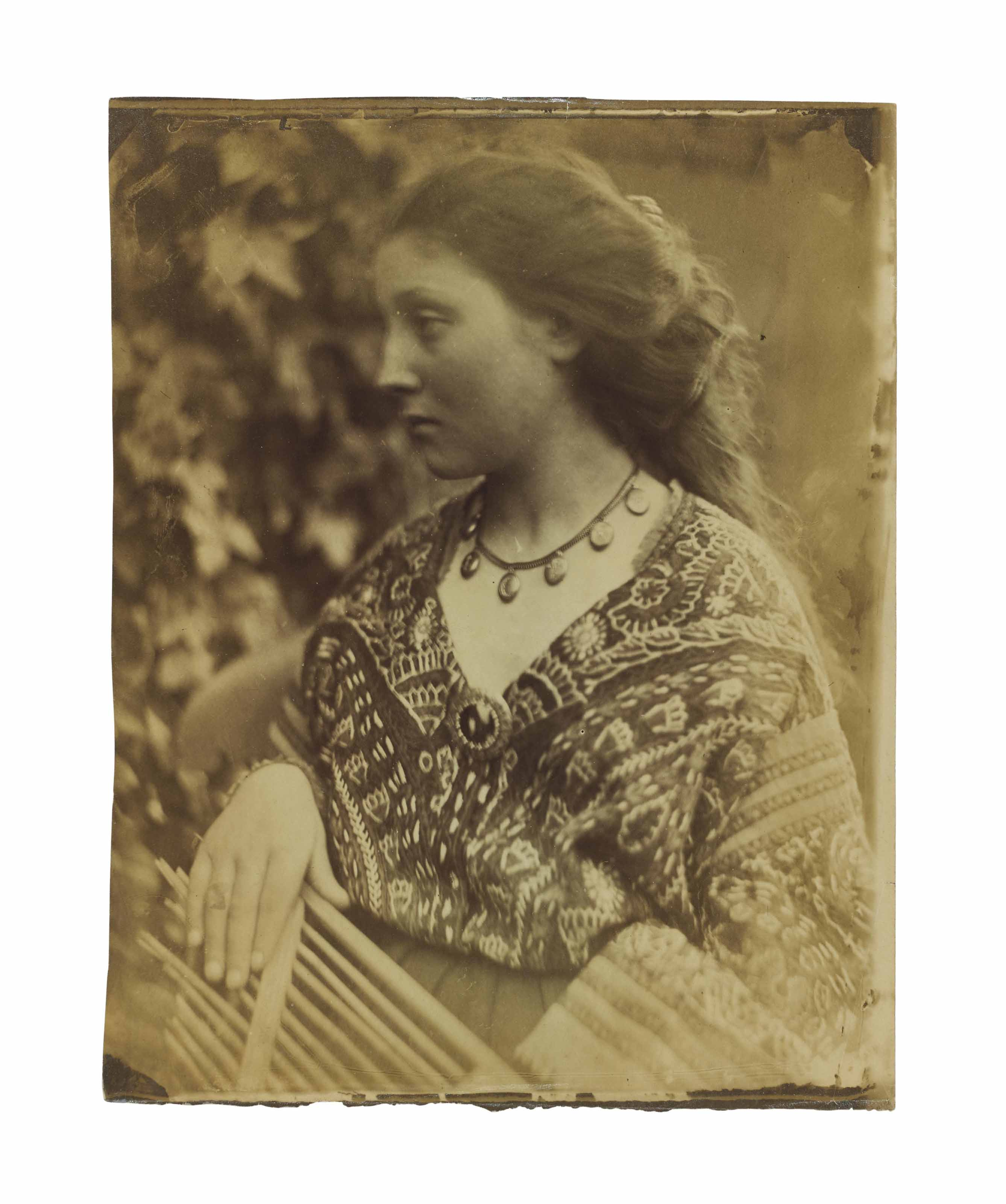 Sappho, Mary Hillier, 1865