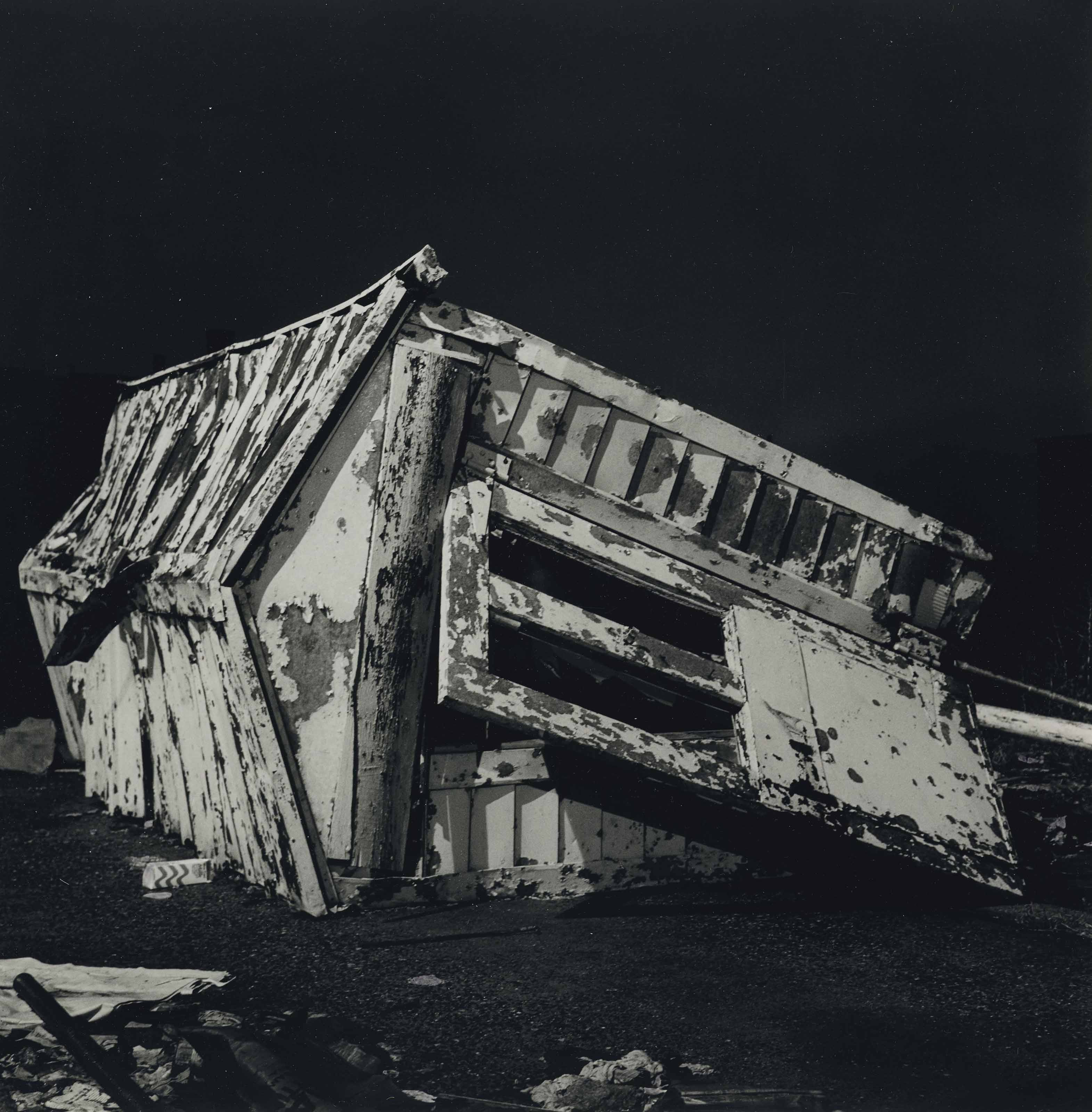 White House Collapsed, Queens, NYC, 1985