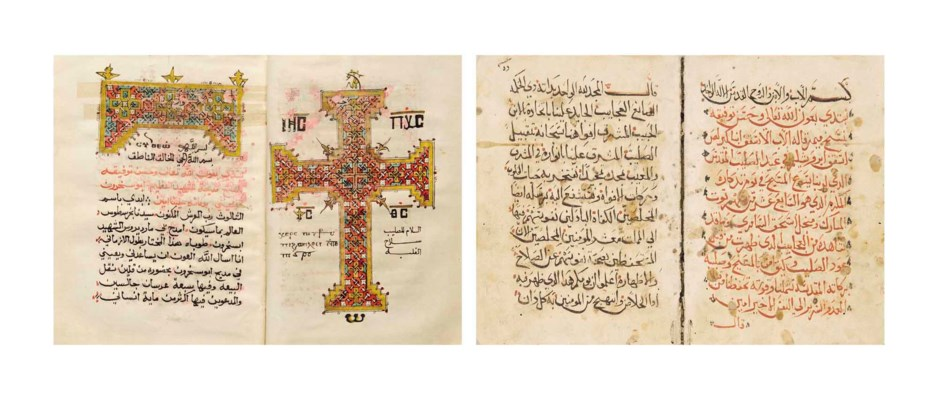 TWO CHRISTIAN MANUSCRIPTS
