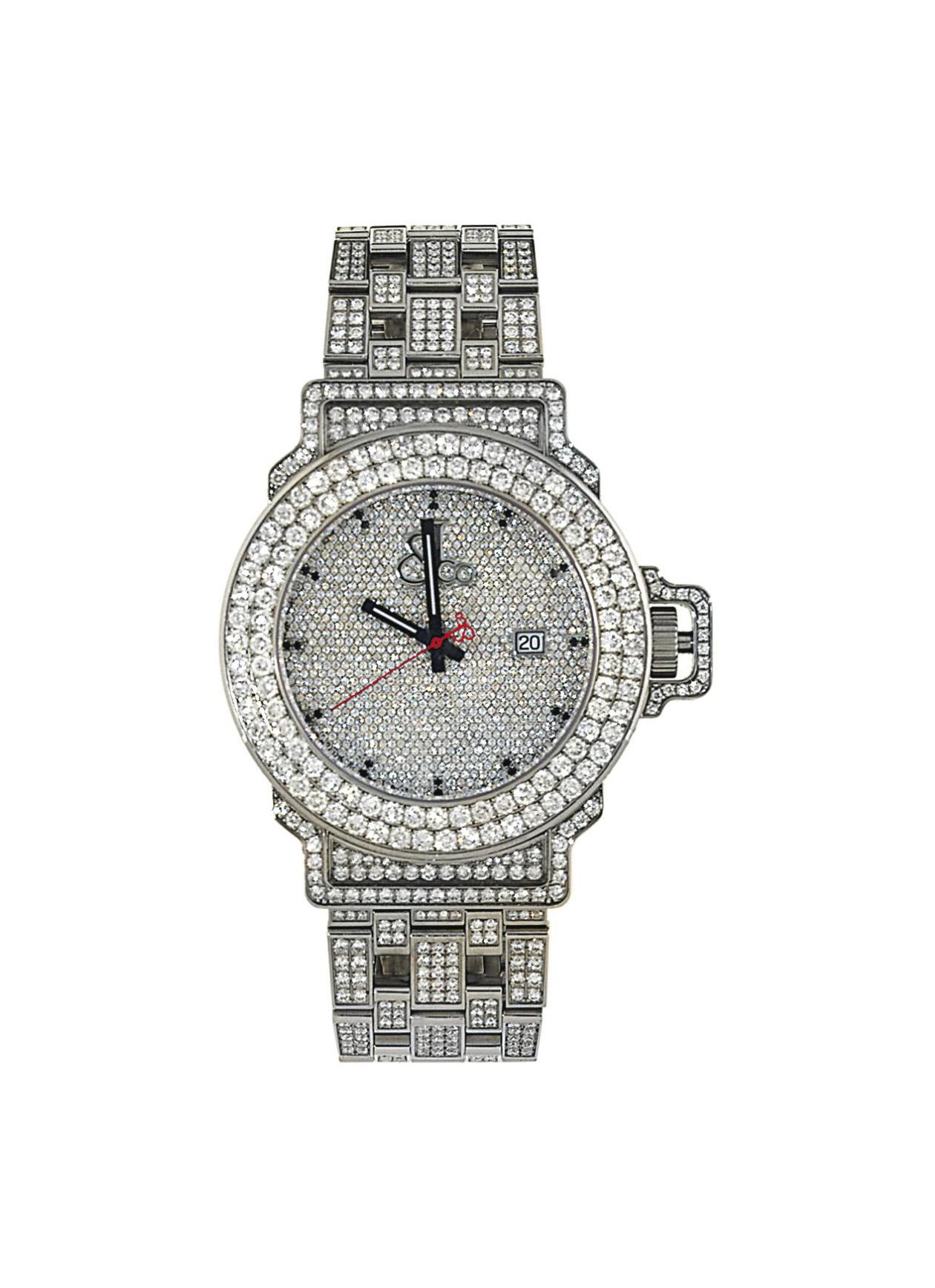 A diamond-set automatic wristwatch, by Jacob & Co.