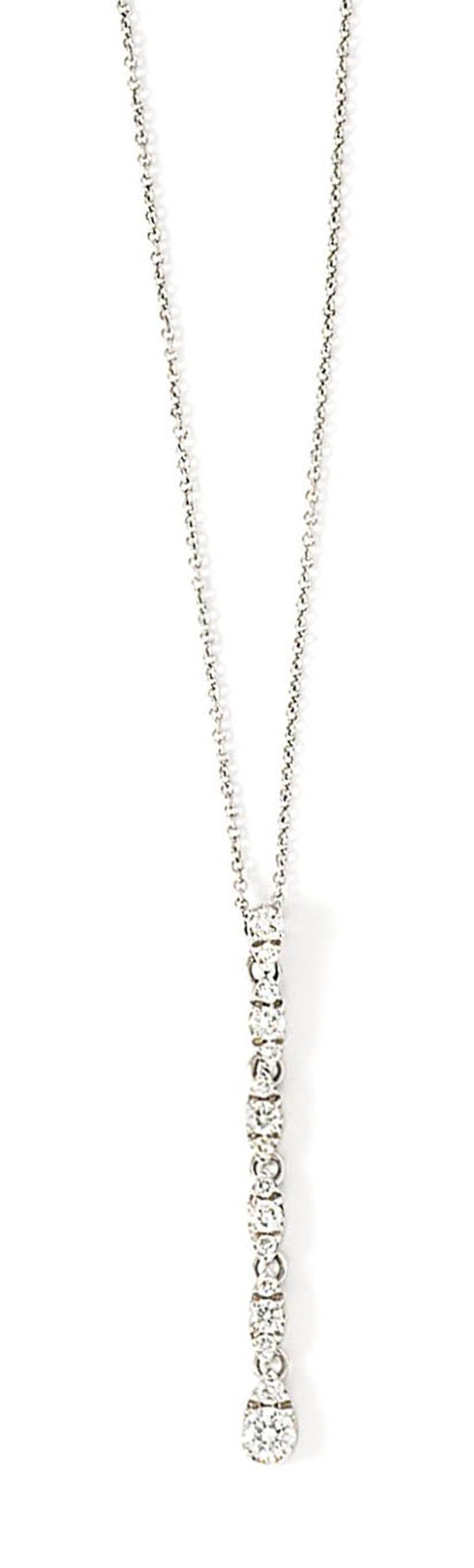 A diamond-set pendant necklace, by Pasquale Bruni