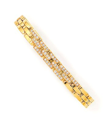 A DIAMOND-SET 'PANTHERE' BRACE