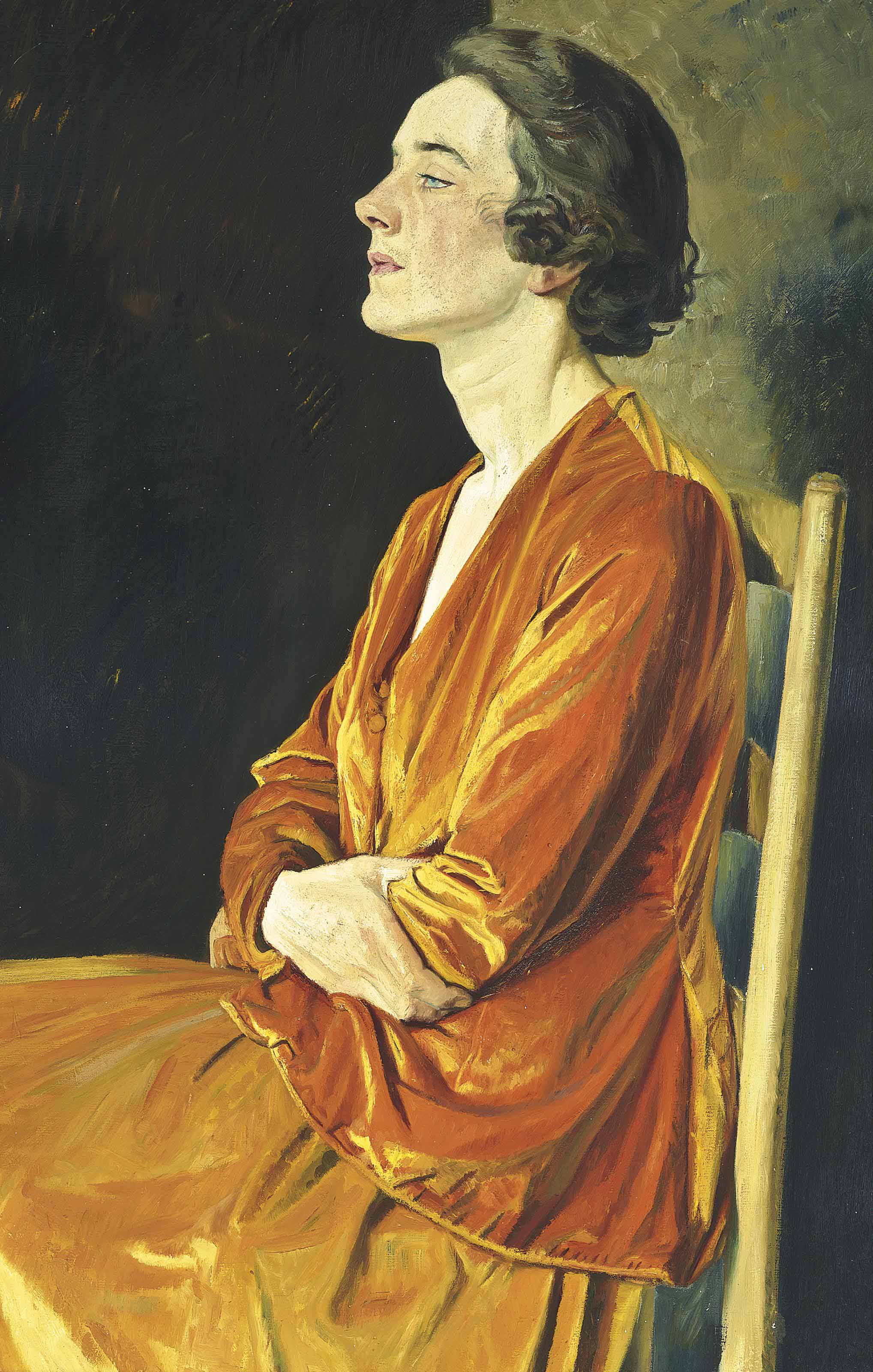 Portrait of Gladys Calthrop