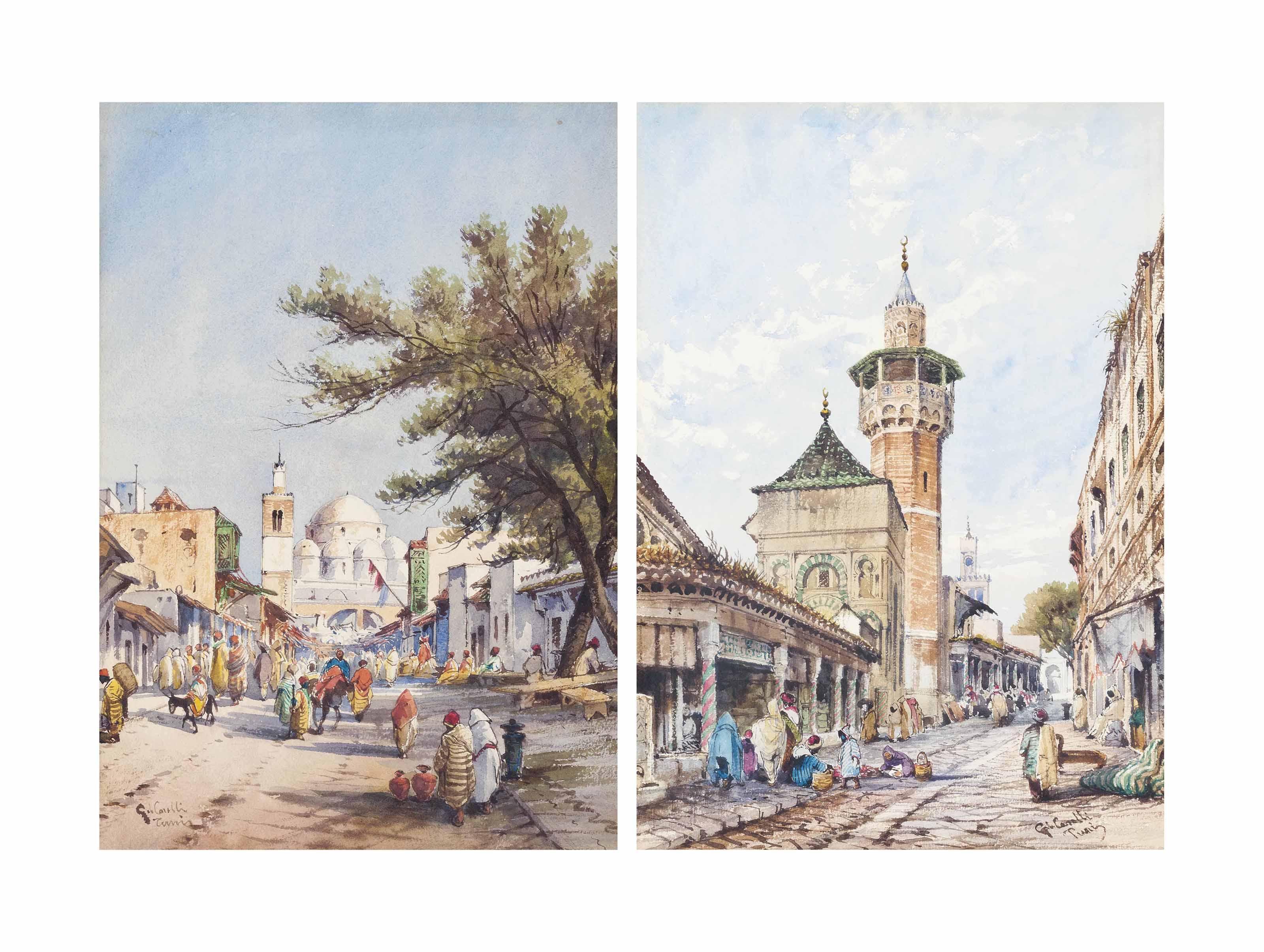 Street scenes in Tunis