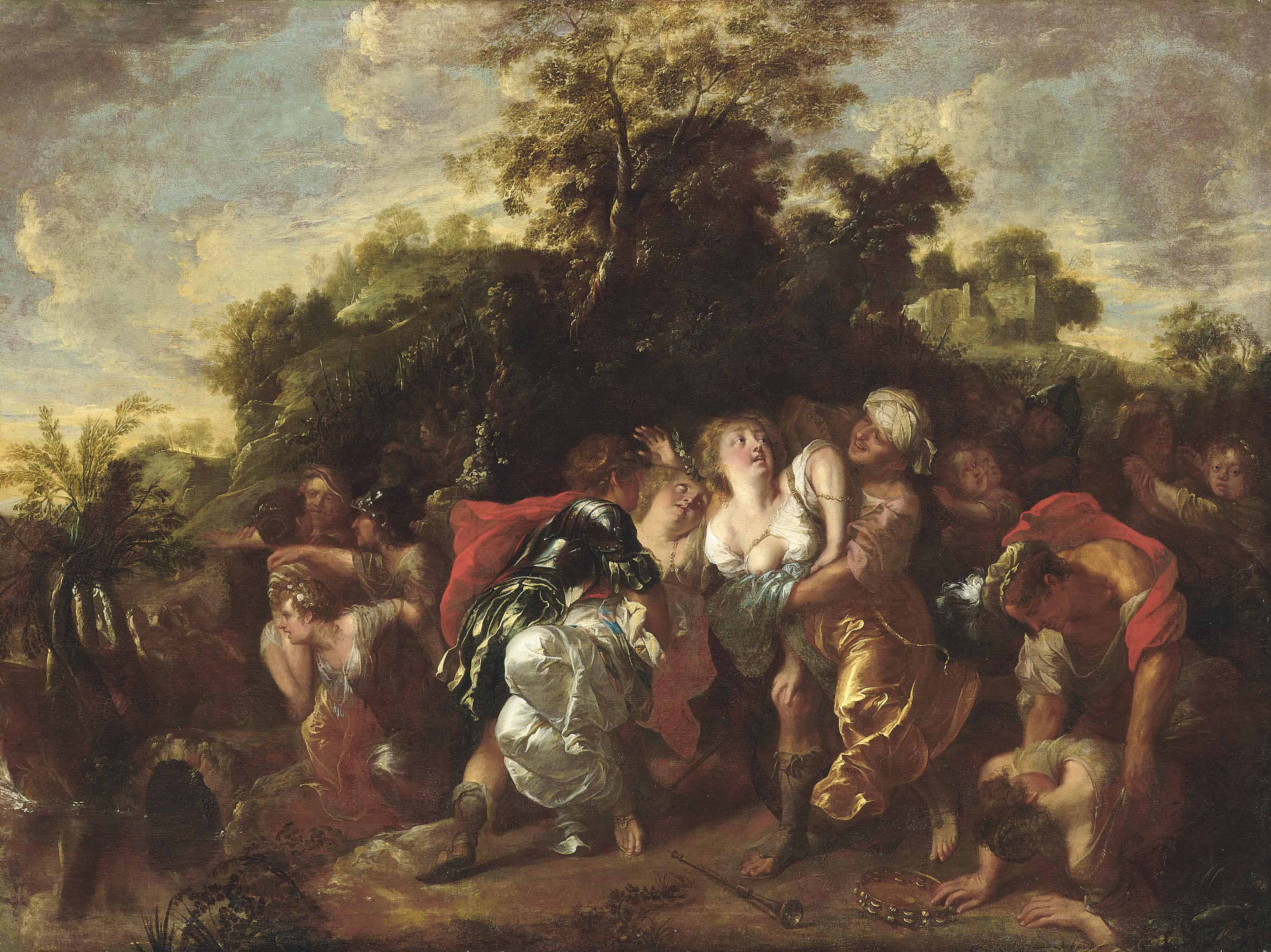 The Abduction of the Women at the Dance of Shiloh