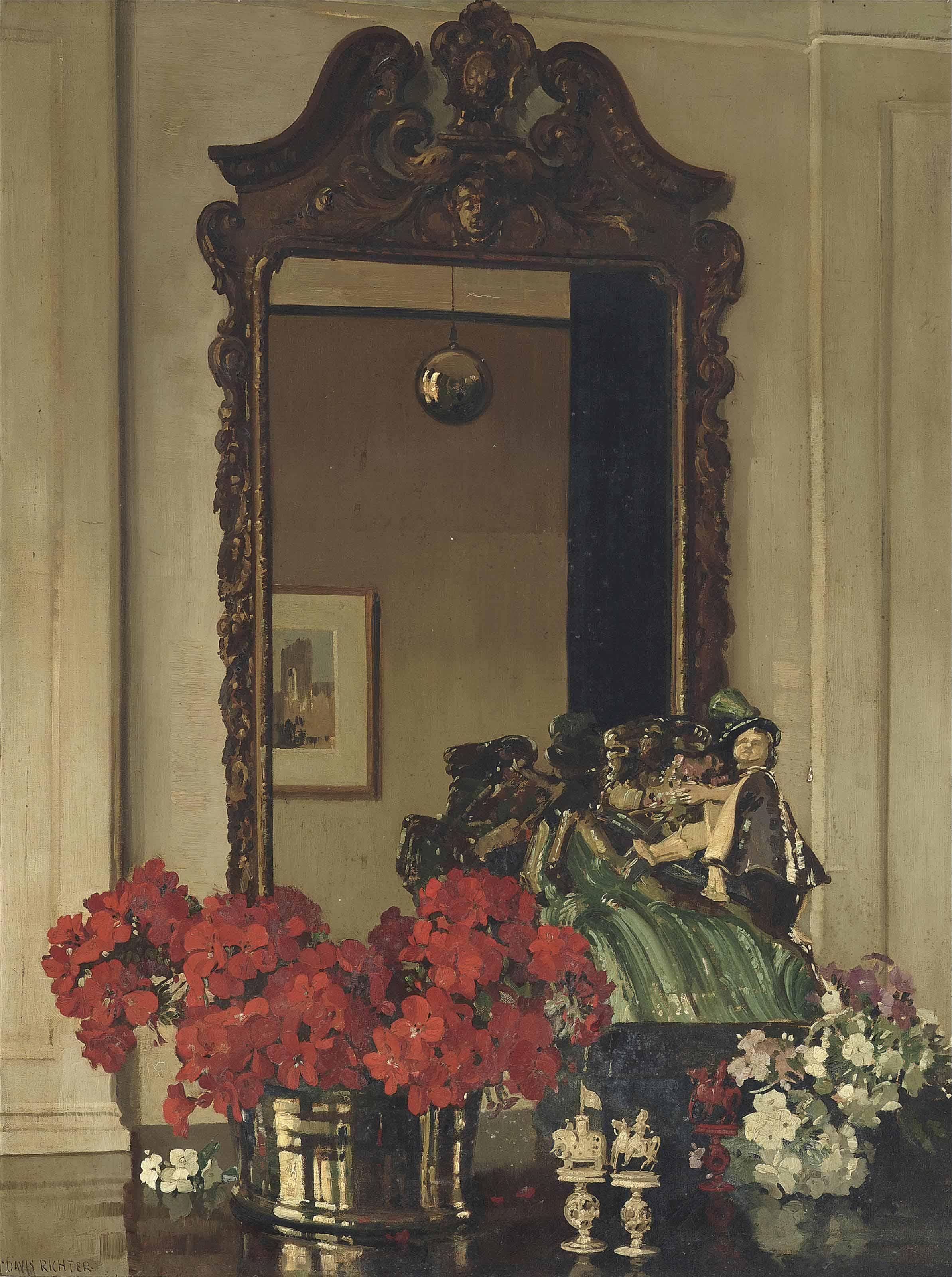 A Georgian mirror