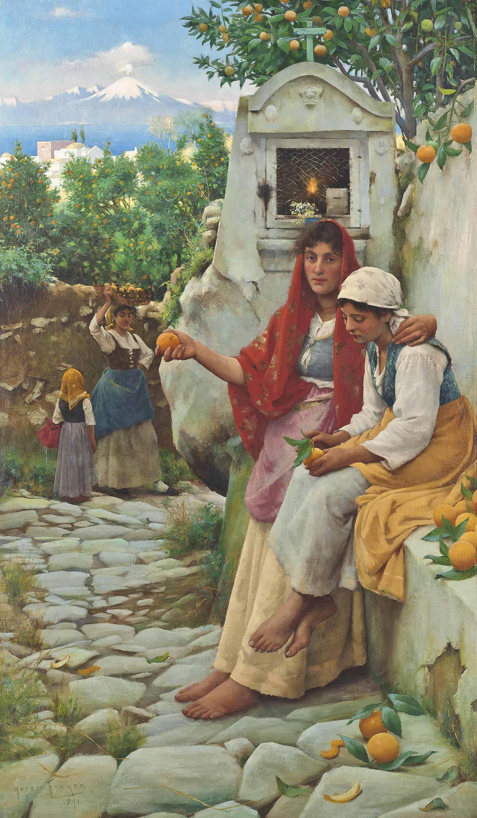 The orange sellers