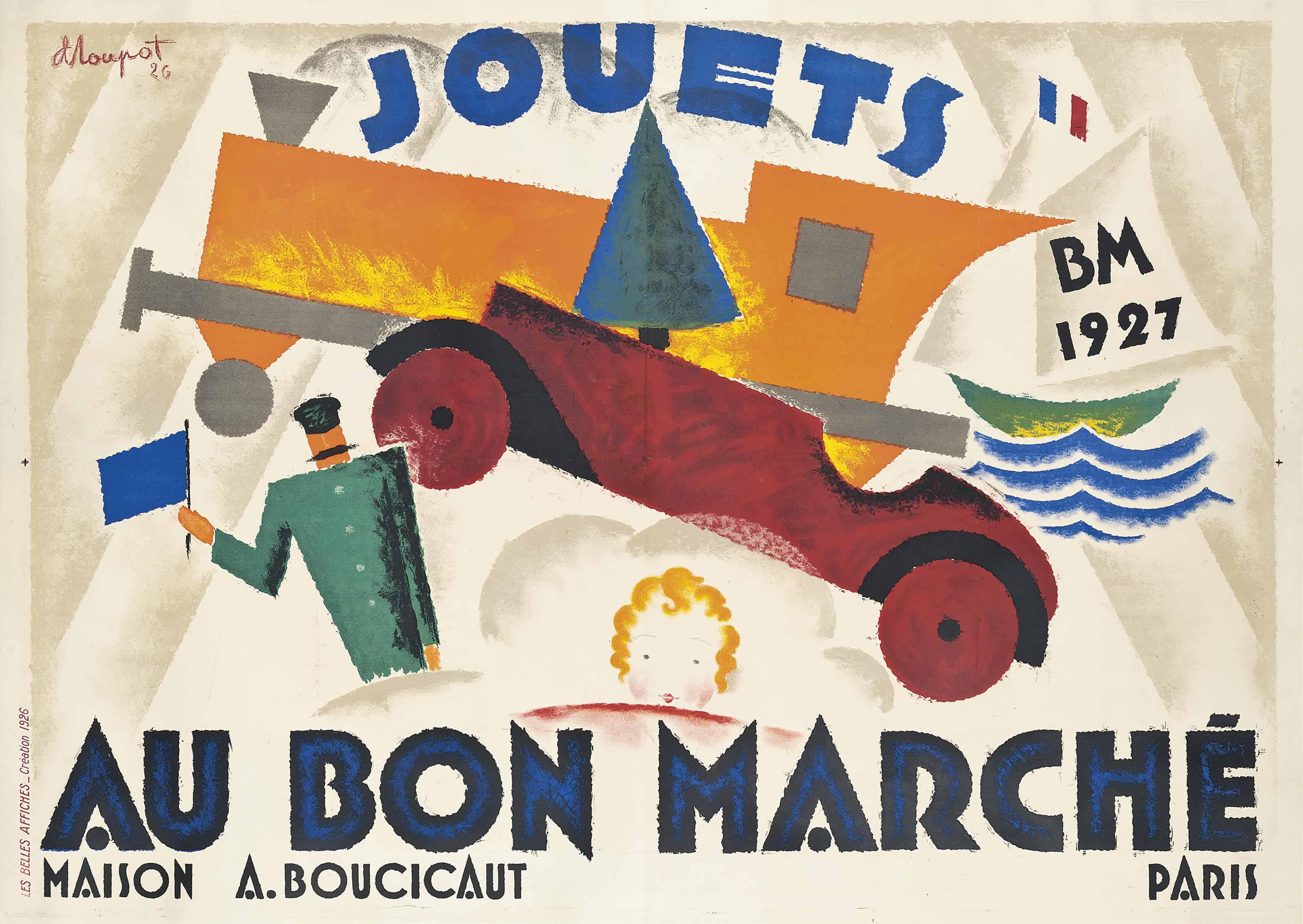 JOUETS, AU BON MARCHÉ