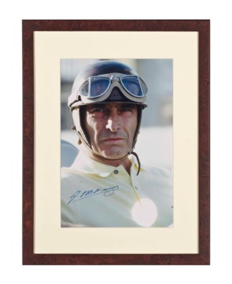 A SIGNED PHOTOGRAPH OF THE RAC
