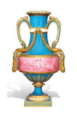 A MINTON SEVRES=STYLE TWO-HAND