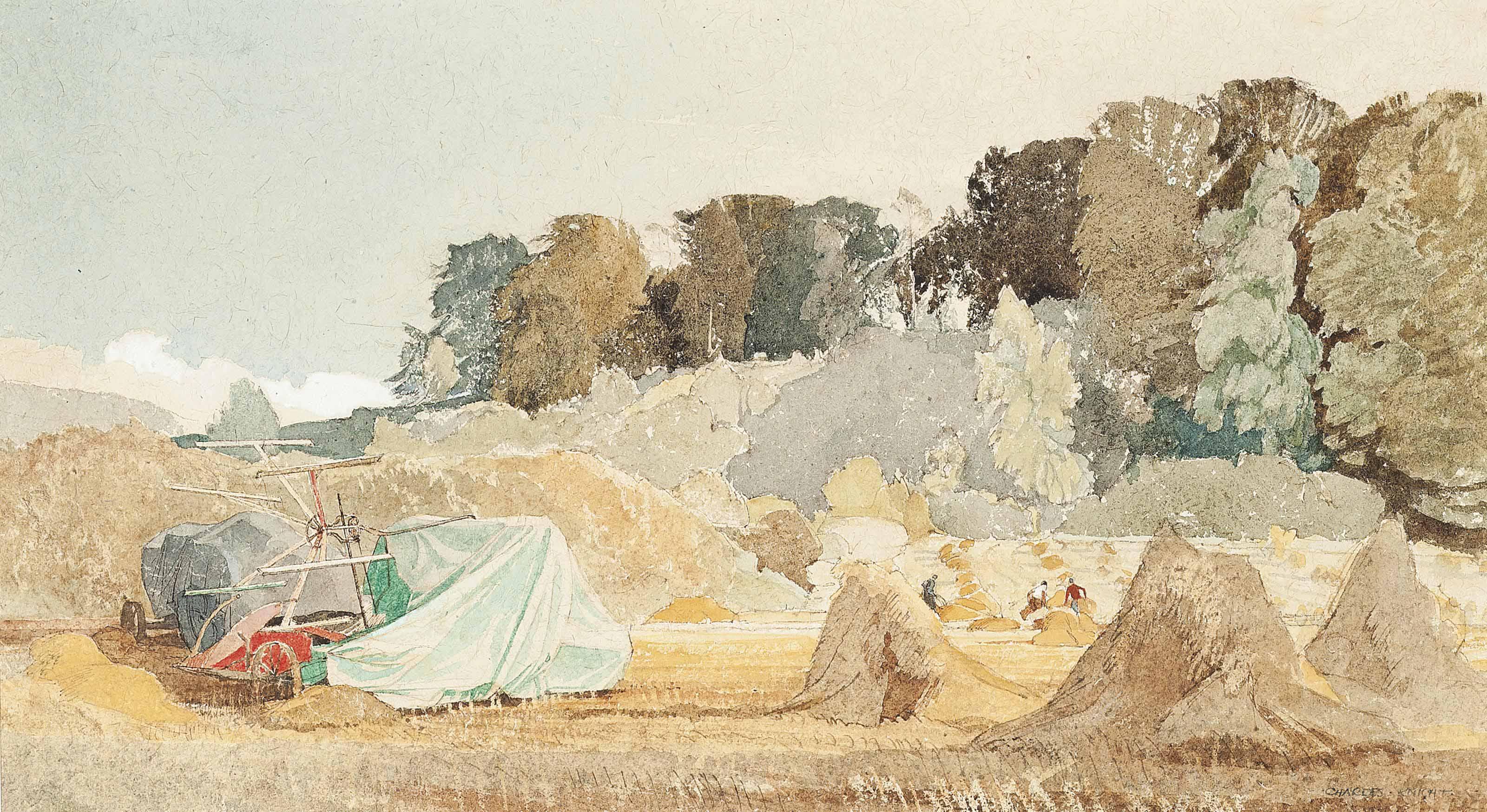 Harvest in Sussex