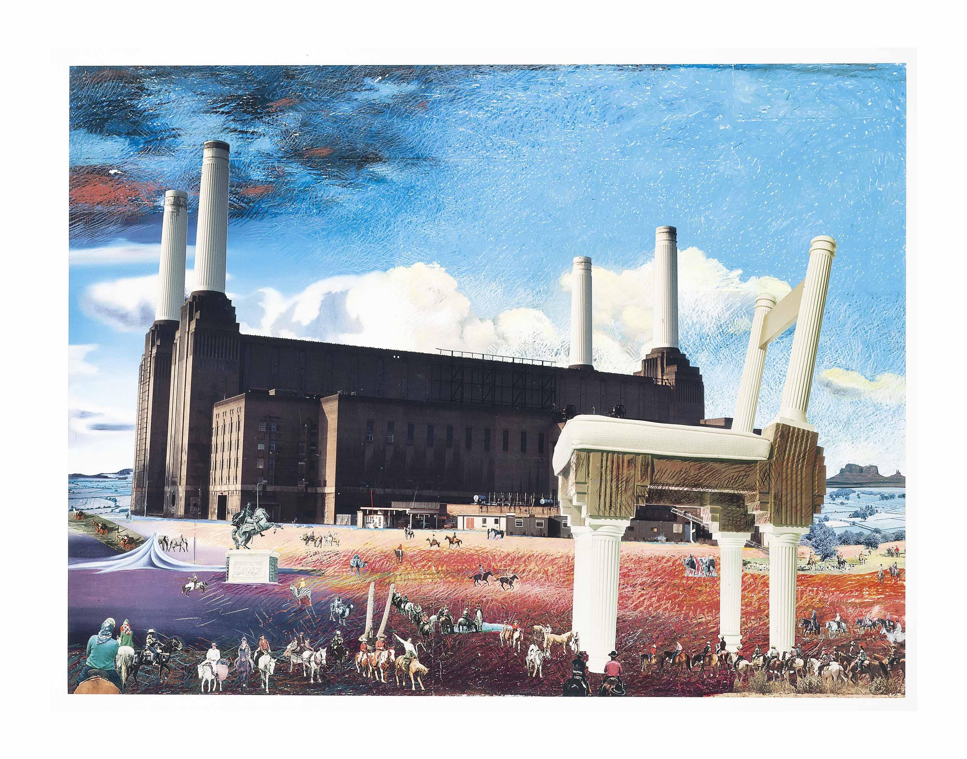 Battersea Power station: Wild West
