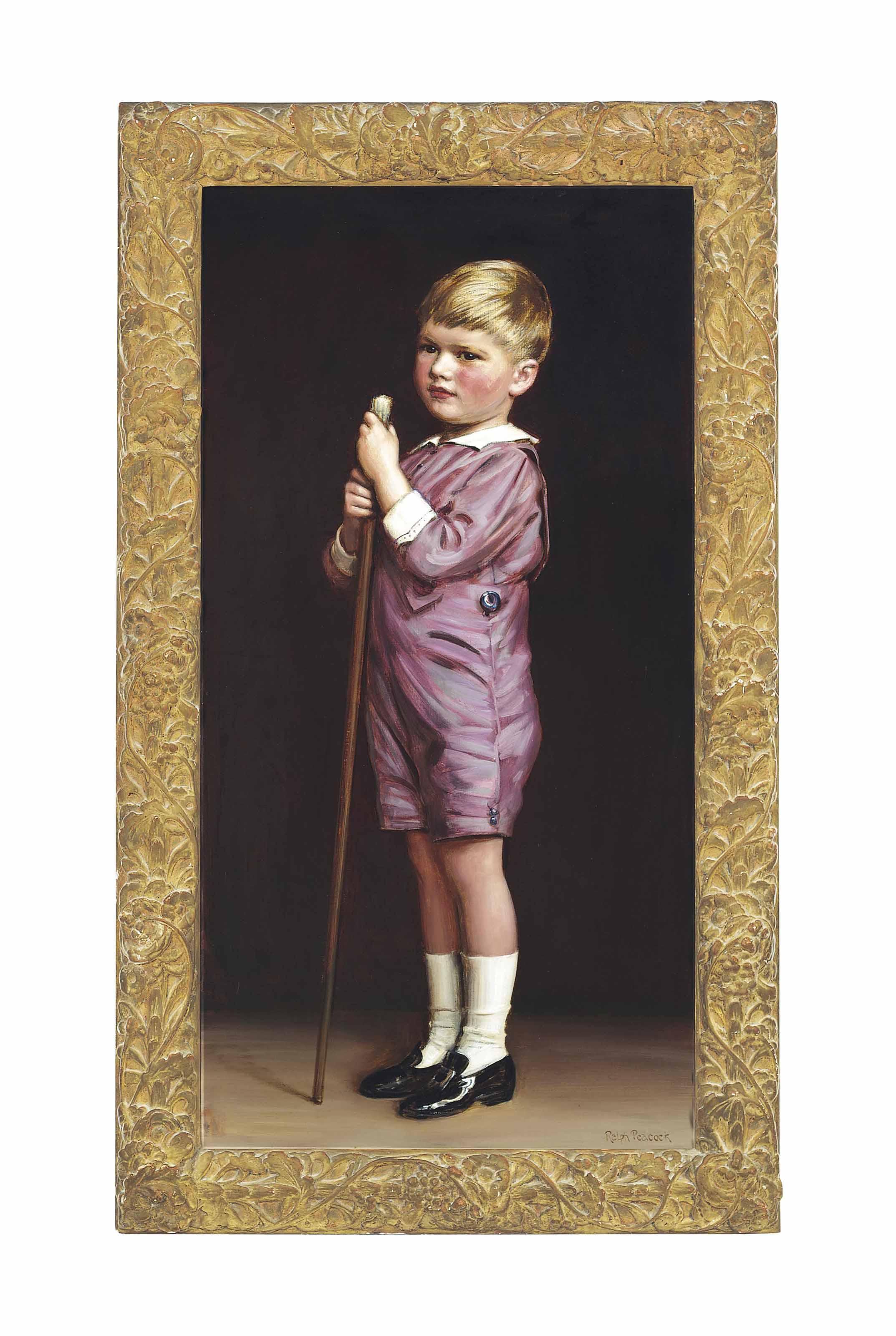 Portrait of George Michael Kerr (b. 1913)