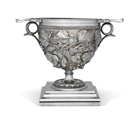 A VICTORIAN SILVER-PLATED ELEC