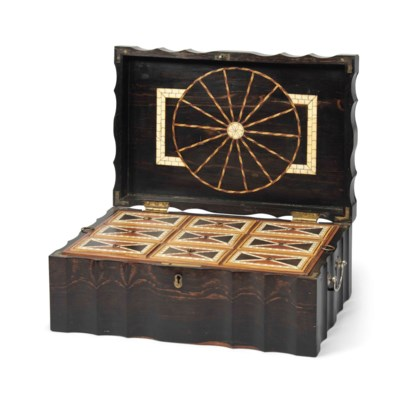 A CEYLONESE COROMANDEL BOX