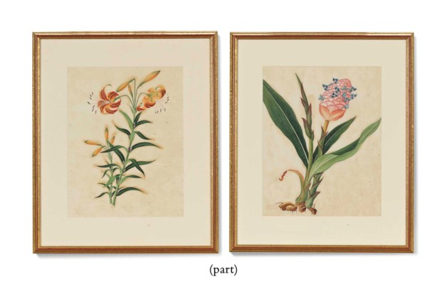 A SET OF SIX CHINESE PAINTINGS