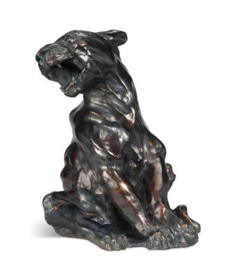 A LARGE FRENCH BRONZE MODEL OF