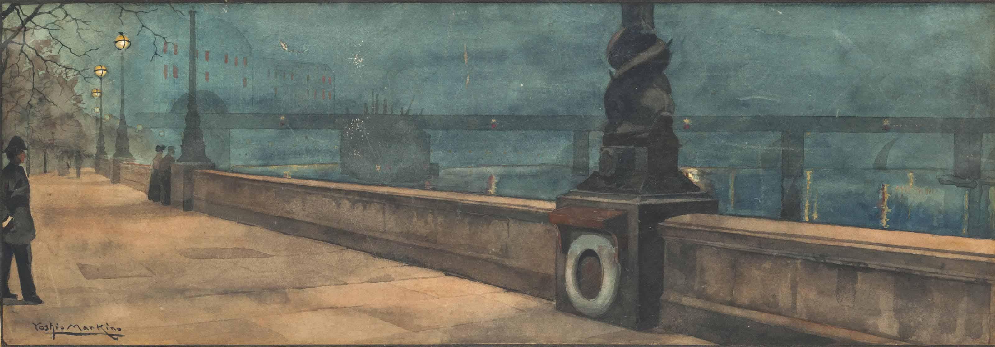 Evening on the Embankment