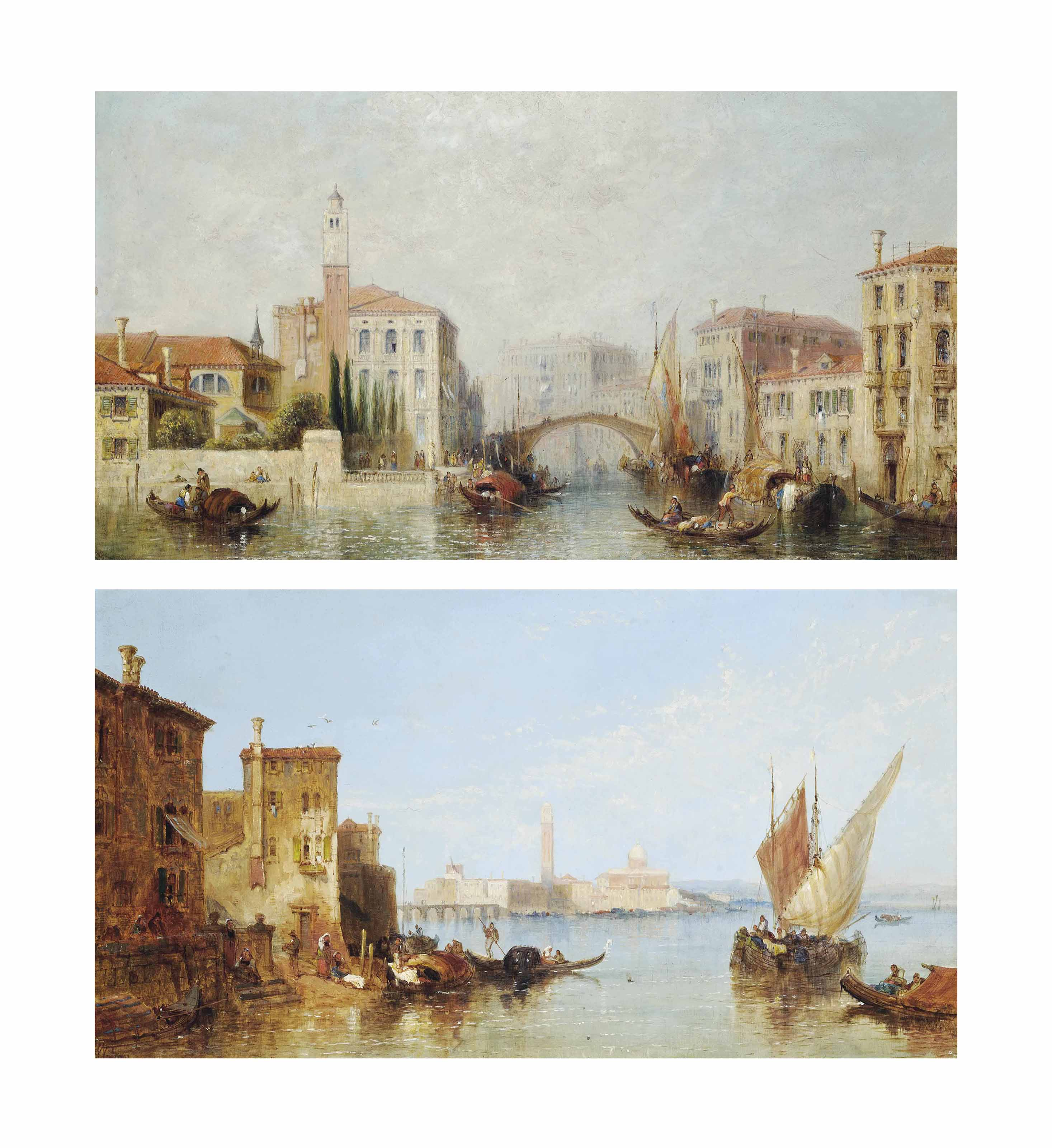 On Venetian waters, a capriccio; and On a Venetian canal, a capriccio