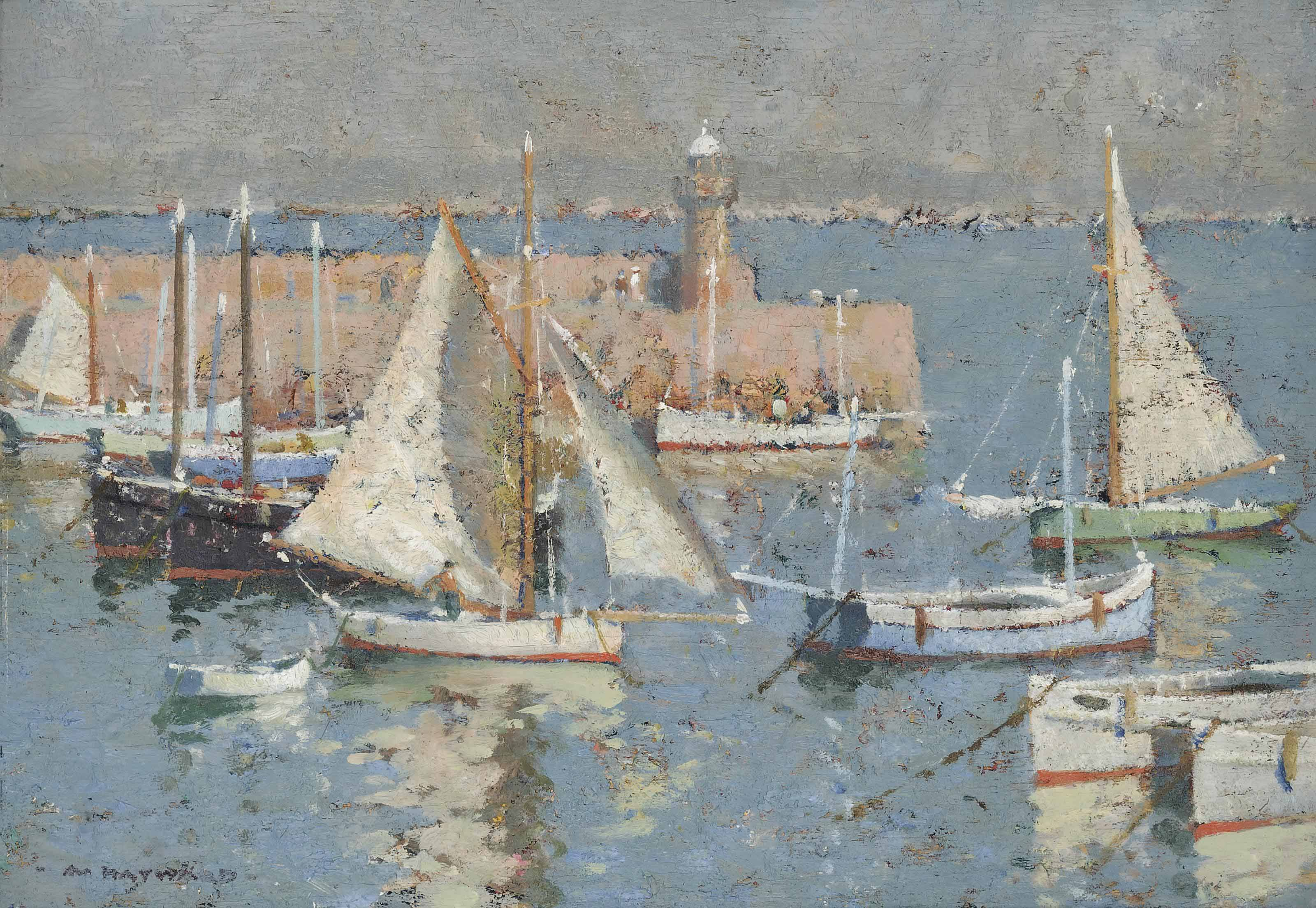 Afternoon in the harbour, St Ives