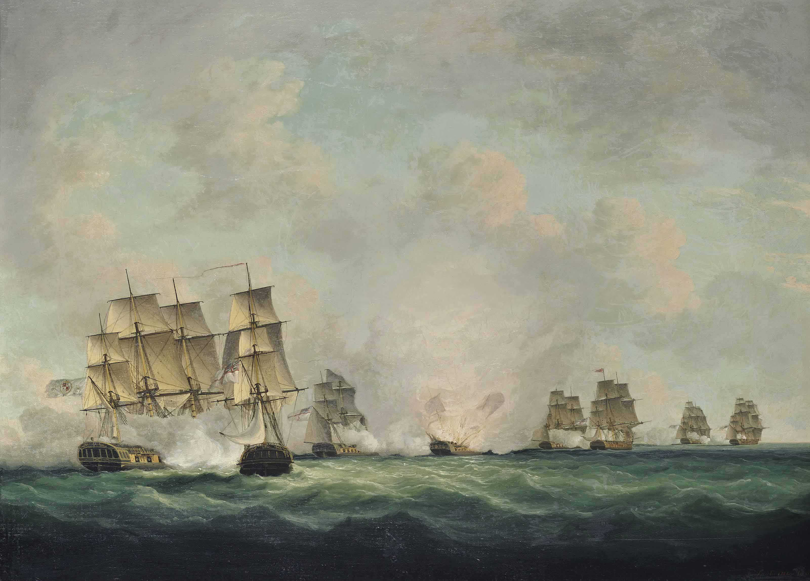The battle of Cape Santa Maria, 5th October 1804: The capture of the Spanish treasure ships off Cadiz