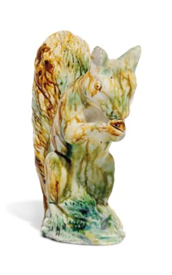 A STAFFORDSHIRE PEARLWARE MODE