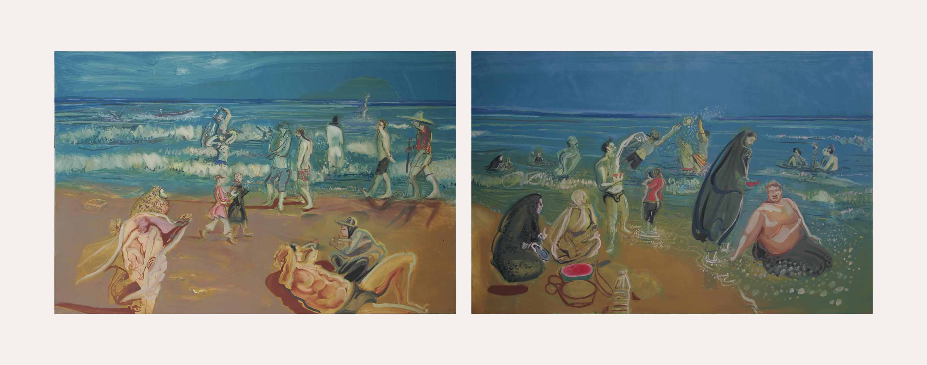 Shomal (Beach at the Caspian)