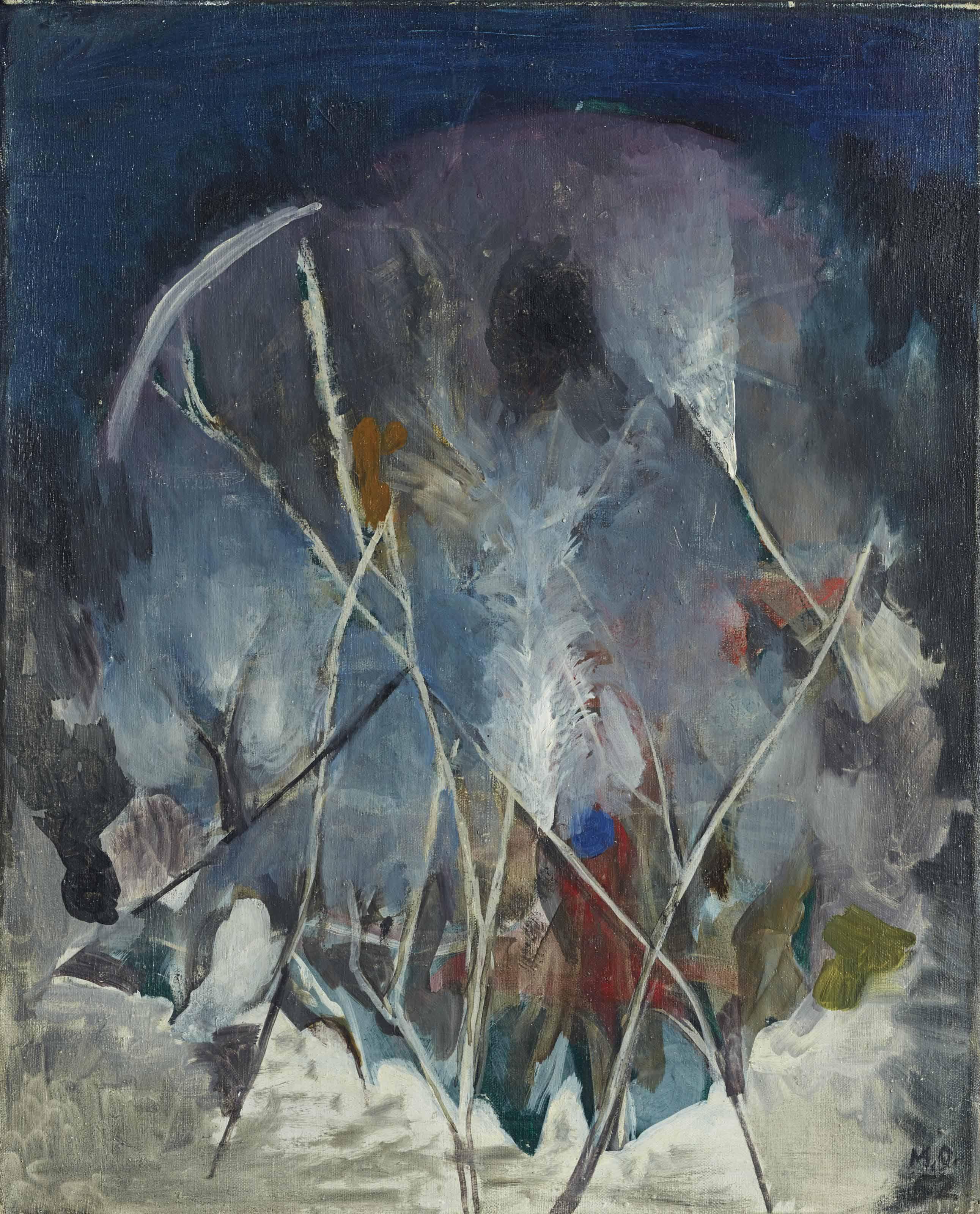 Winterlandschaft, 1952