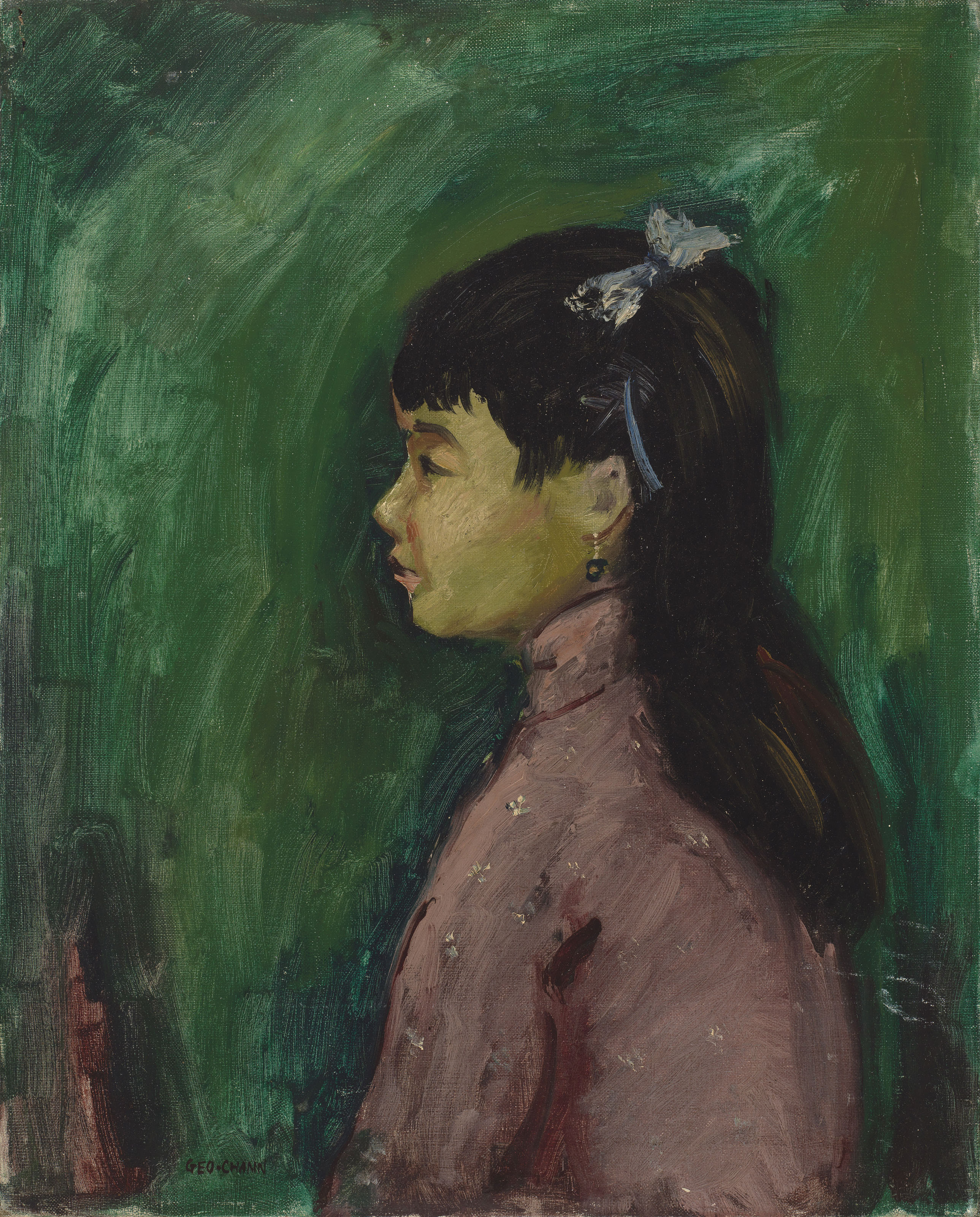 Portait of a Young Chinese Girl