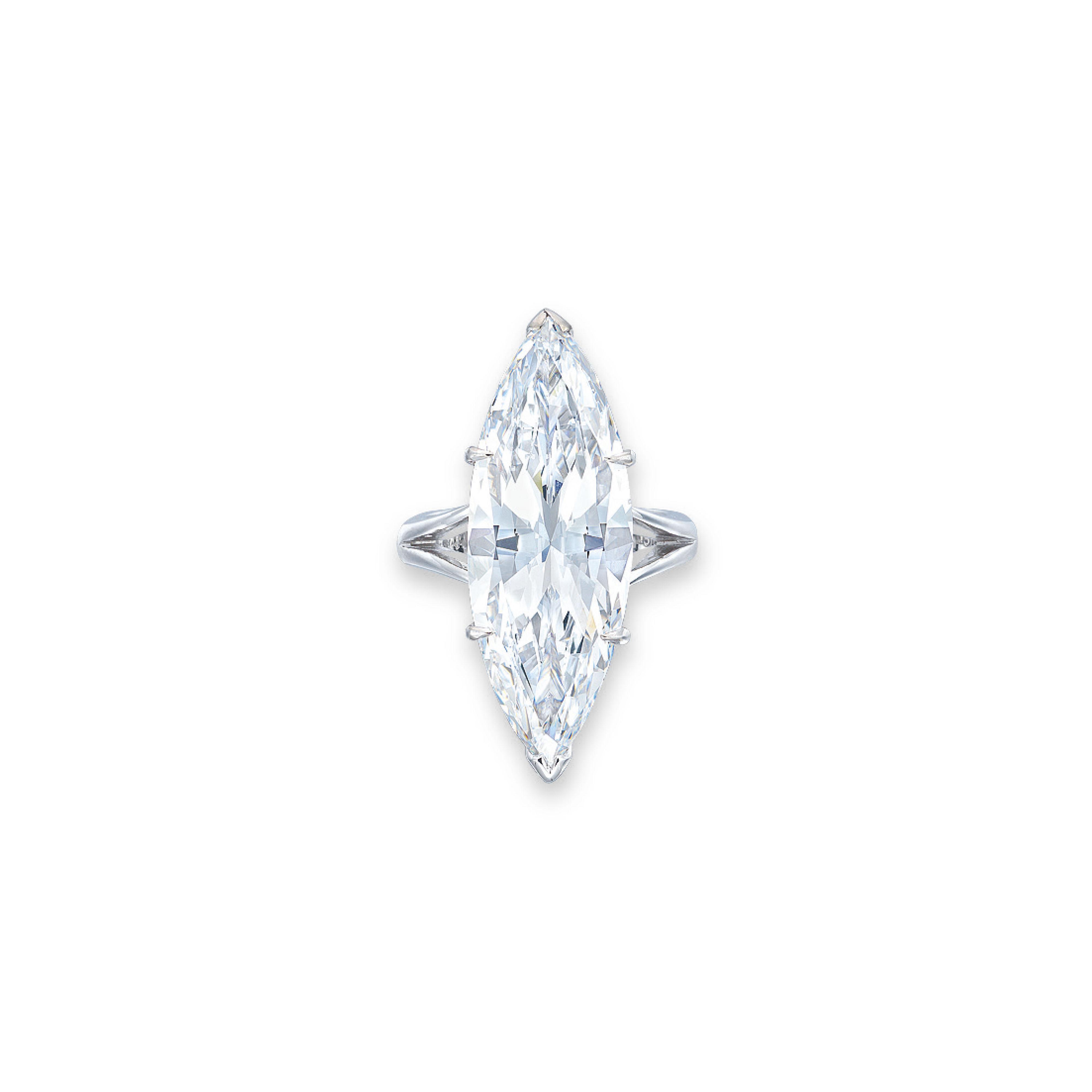AN IMPORTANT DIAMOND RING, BY SIBA