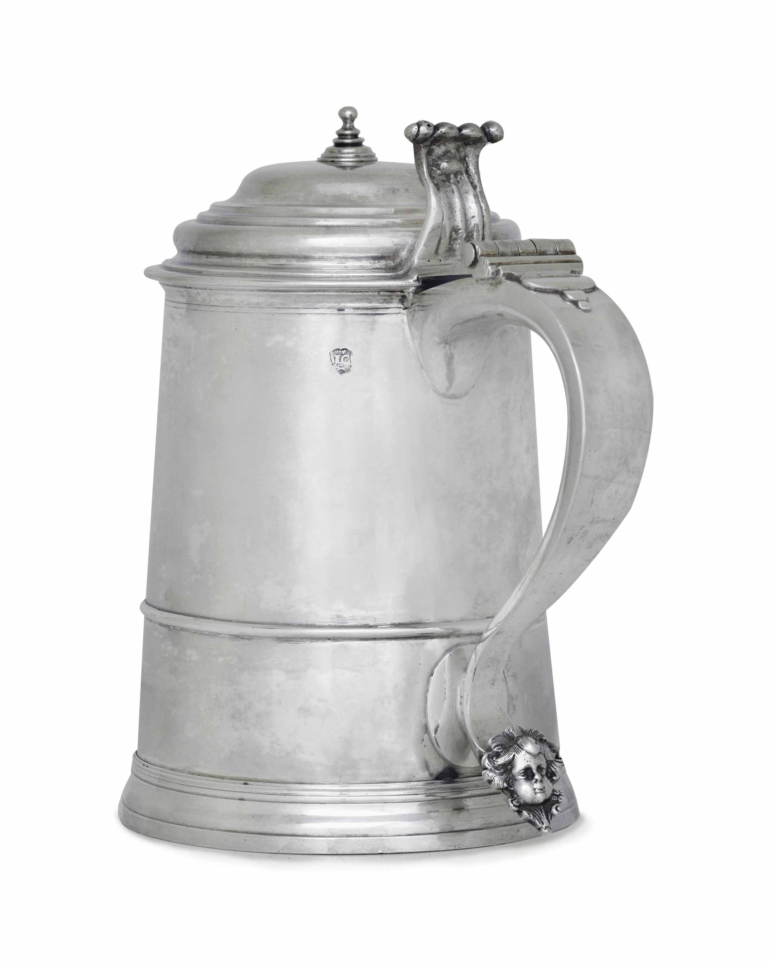 THE SAMUEL MORE SILVER TANKARD