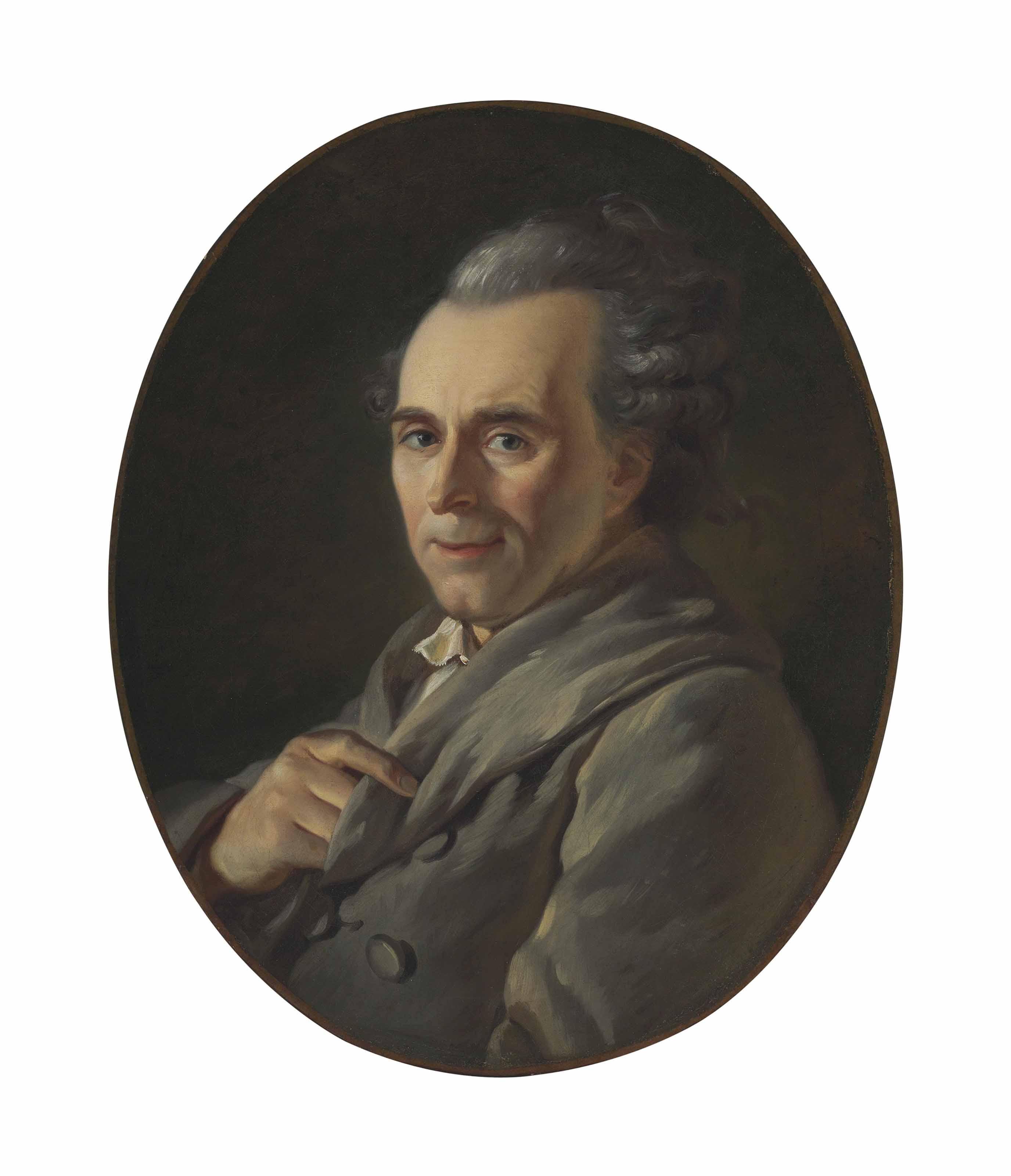 Portrait of Michel-Jean Sedaine