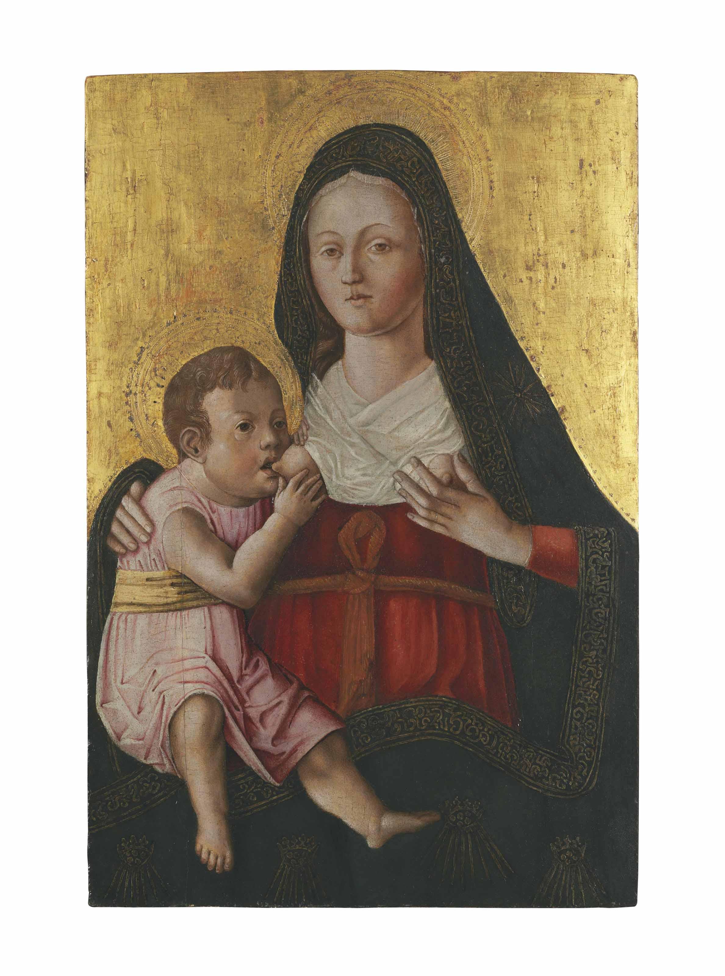 The Madonna Lactans
